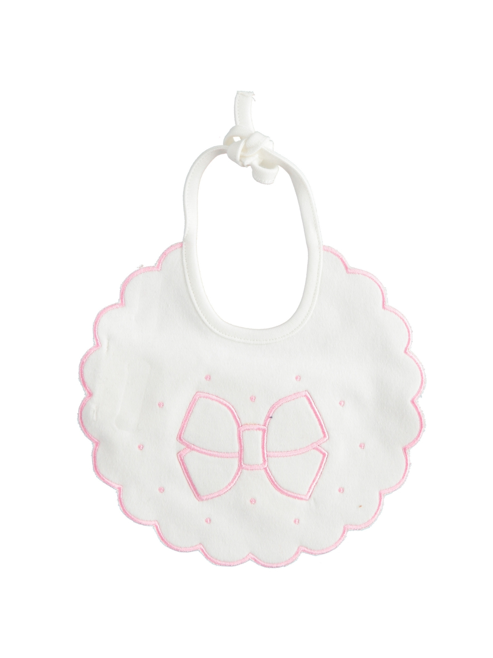 Baby Girl Bonton bib MINIBANDA | Bavette | 33327000112