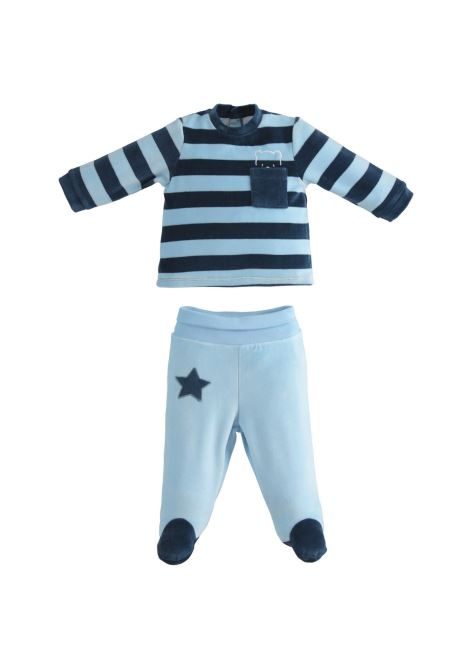 Newborn Striped Suit MINIBANDA | Rompers | 33603003656