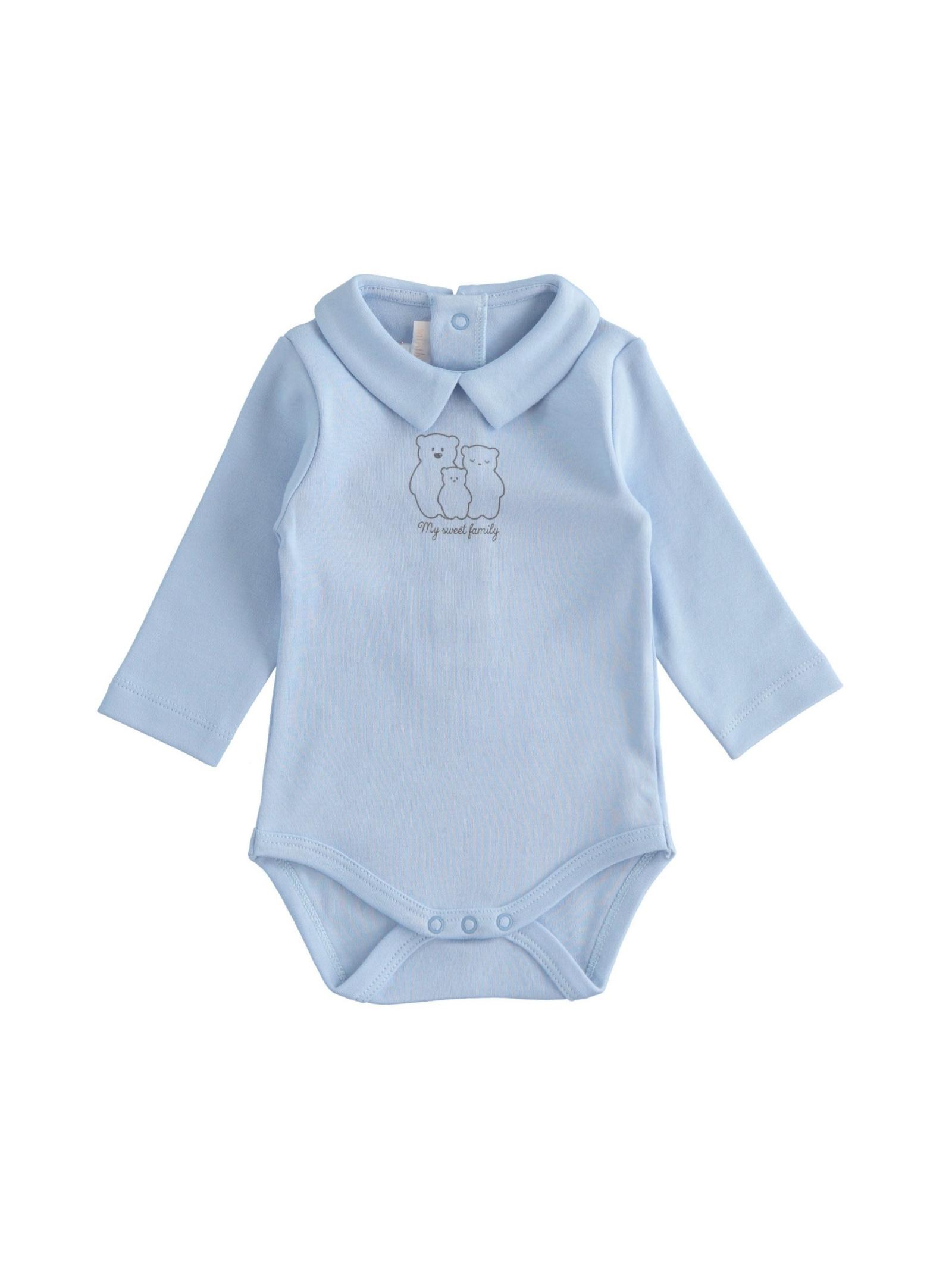 Pure Cotton Baby Bodysuit MINIBANDA | Body | 33627003862