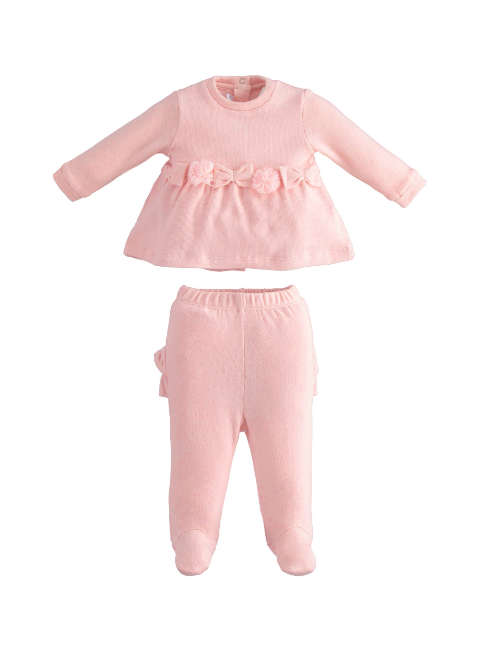 Two-Piece Baby Girl Romper MINIBANDA | Rompers | 33700002715
