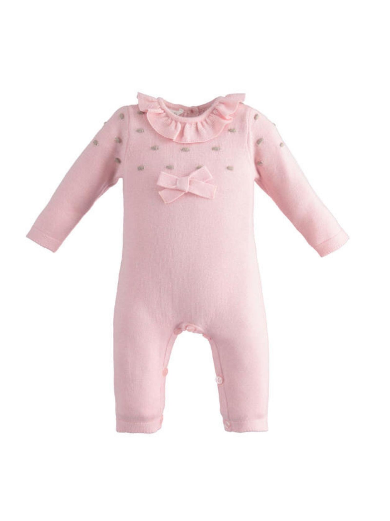 Baby girl polka dot romper MINIBANDA | Rompers | 33746002715
