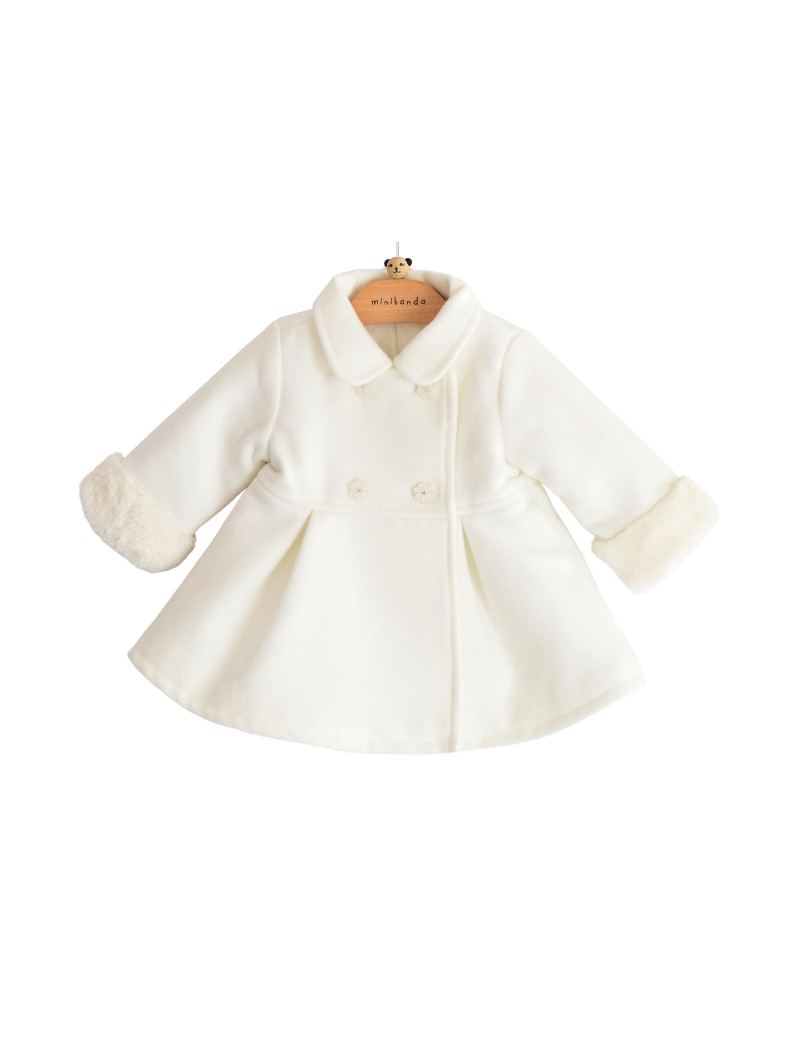 Double-Breasted Coat for Girls MINIBANDA | Coats | 33761000112