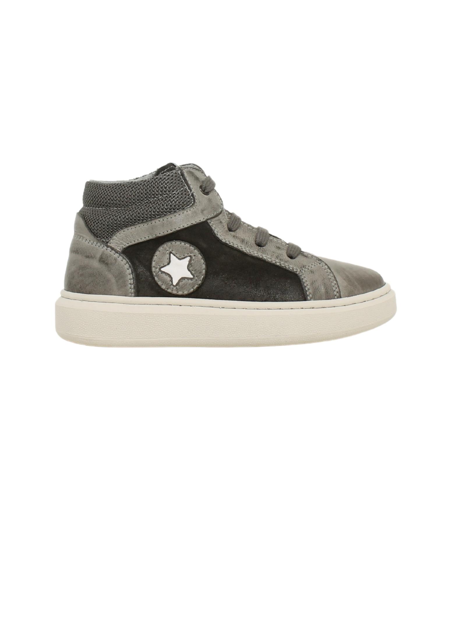 Sneakers Suede Gray Bambino NERO GIARDINI JUNIOR   Sneakers   023925M104