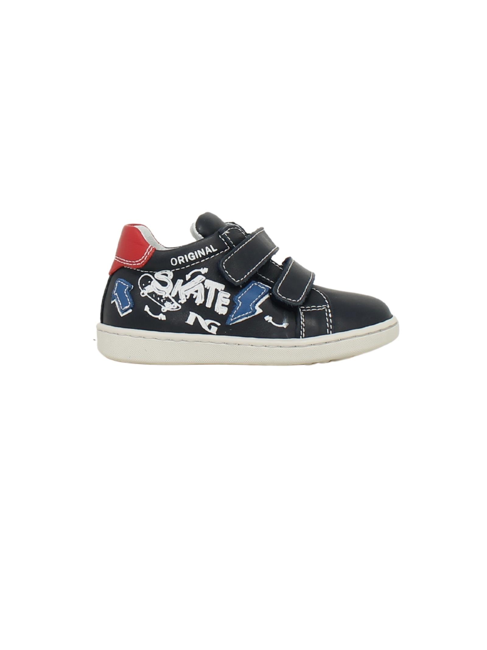 Sneakers Cile Bluette Bambino NERO GIARDINI JUNIOR   Sneakers   124603M200