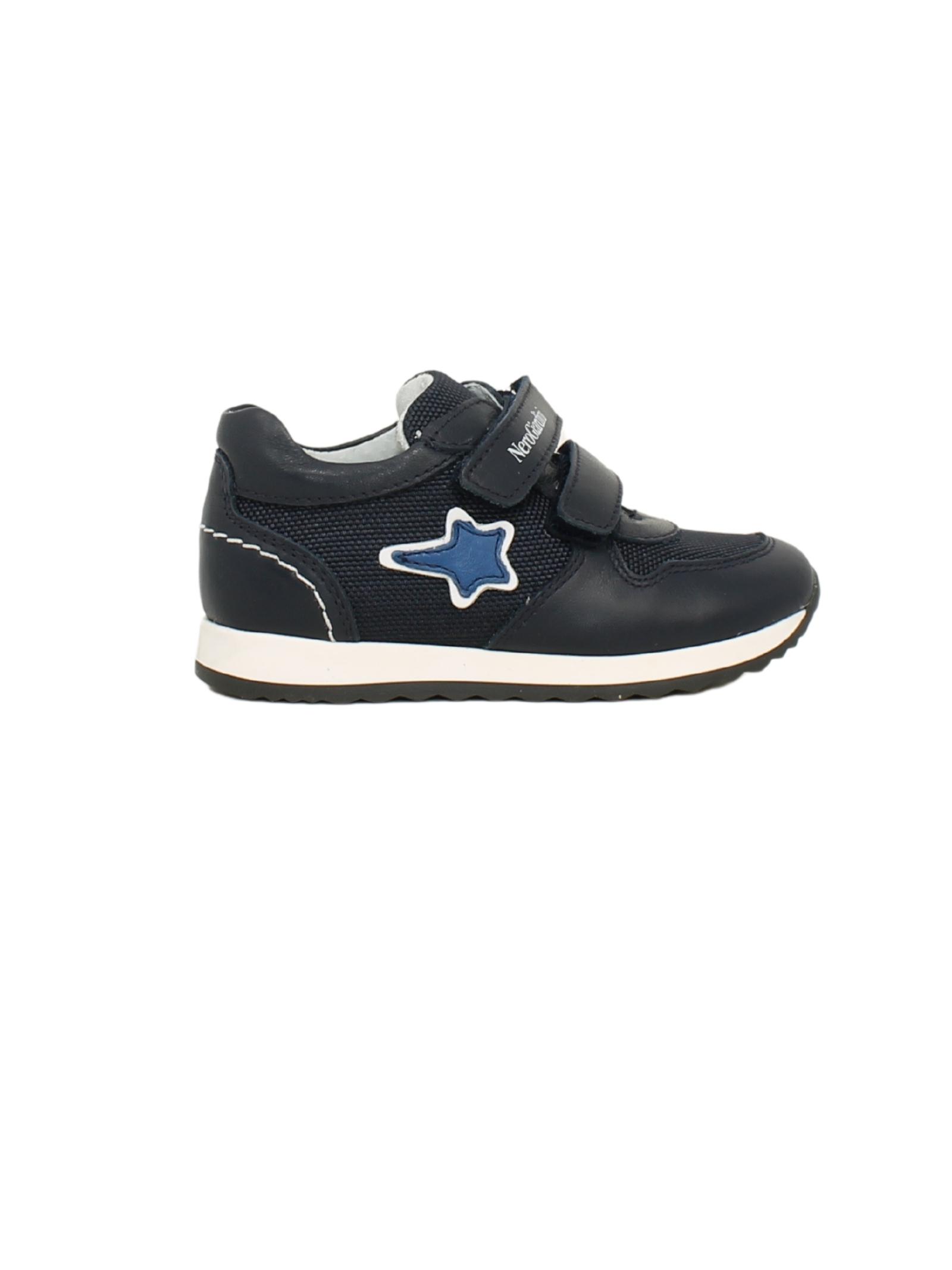 Sneakers Stars Blu Bambino NERO GIARDINI JUNIOR   Sneakers   124611M200