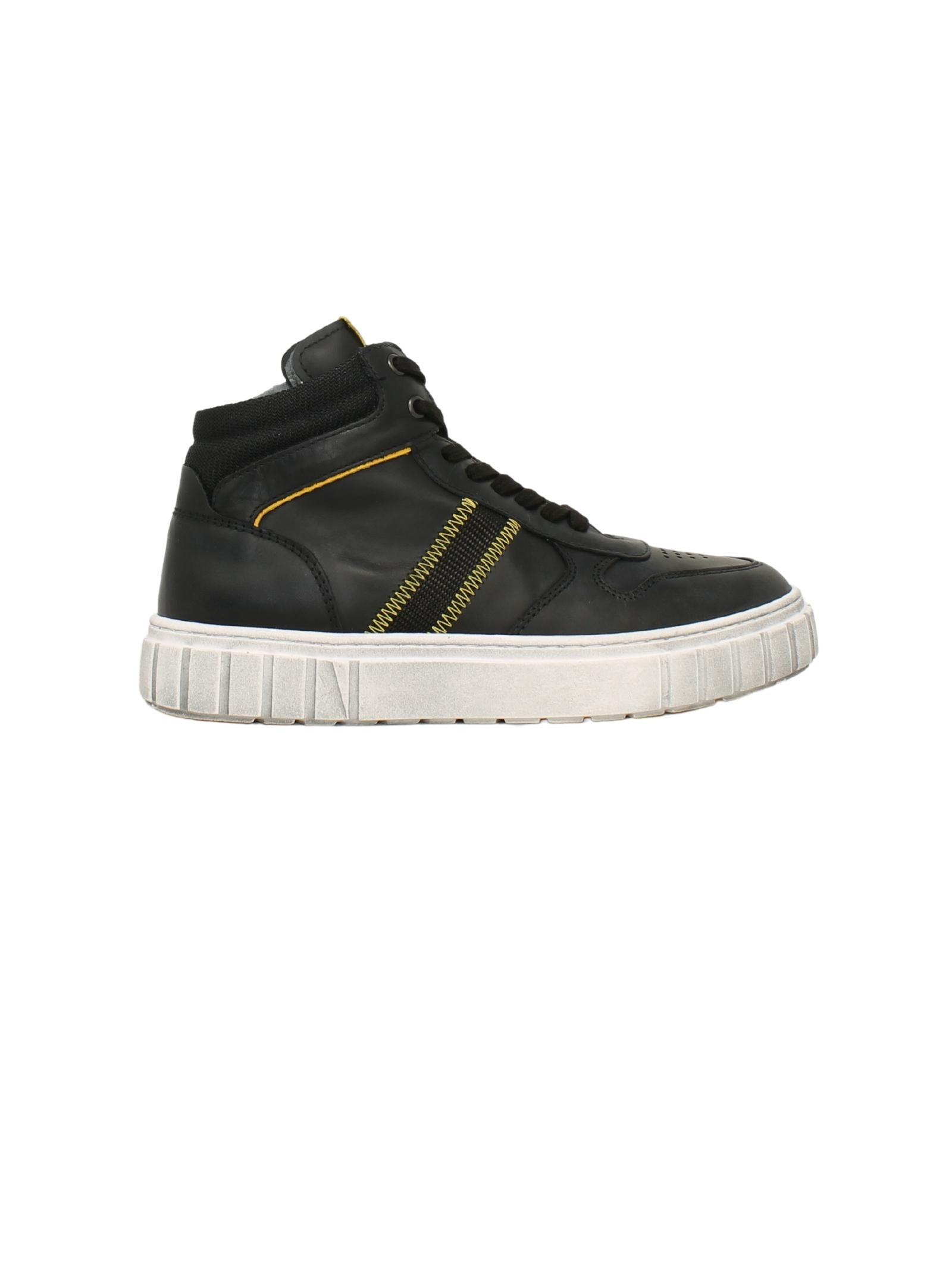 Sneakers Black Yellow Bambino NERO GIARDINI JUNIOR   Sneakers   134150M100