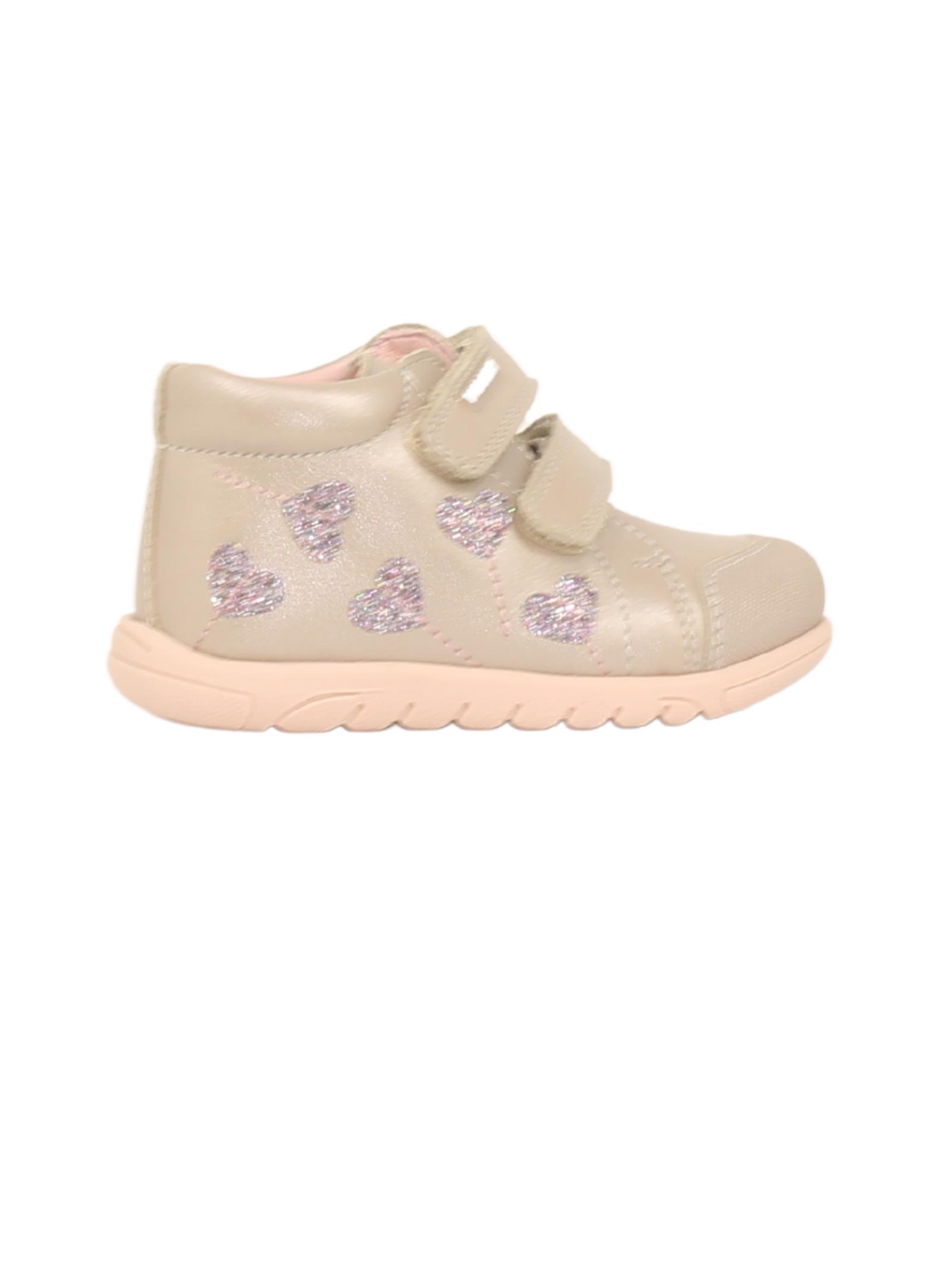 Girls Hearts Sneakers, PABLOSKY | Sneakers | 001932BEIGE