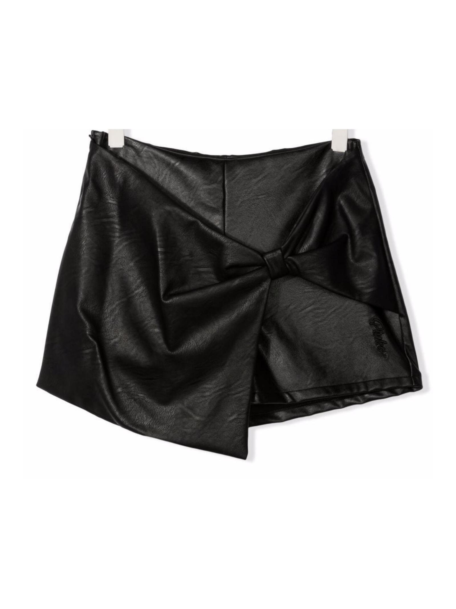 Shorts Fiocco Ecopelle Bambina PINKO UP | Shorts | 028341110