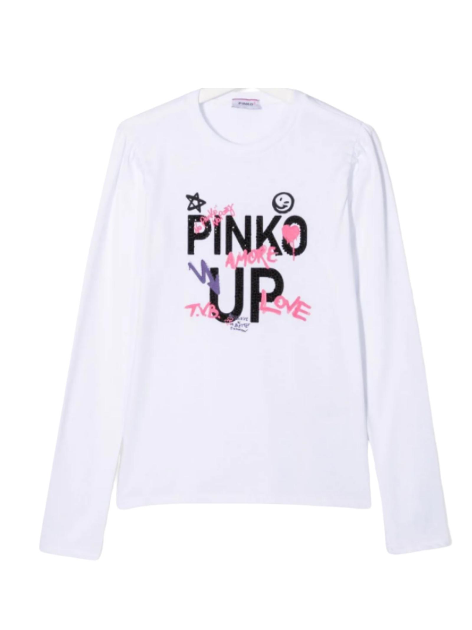 T-shirt Logo Bambina PINKO UP | T-shirt | 028356002