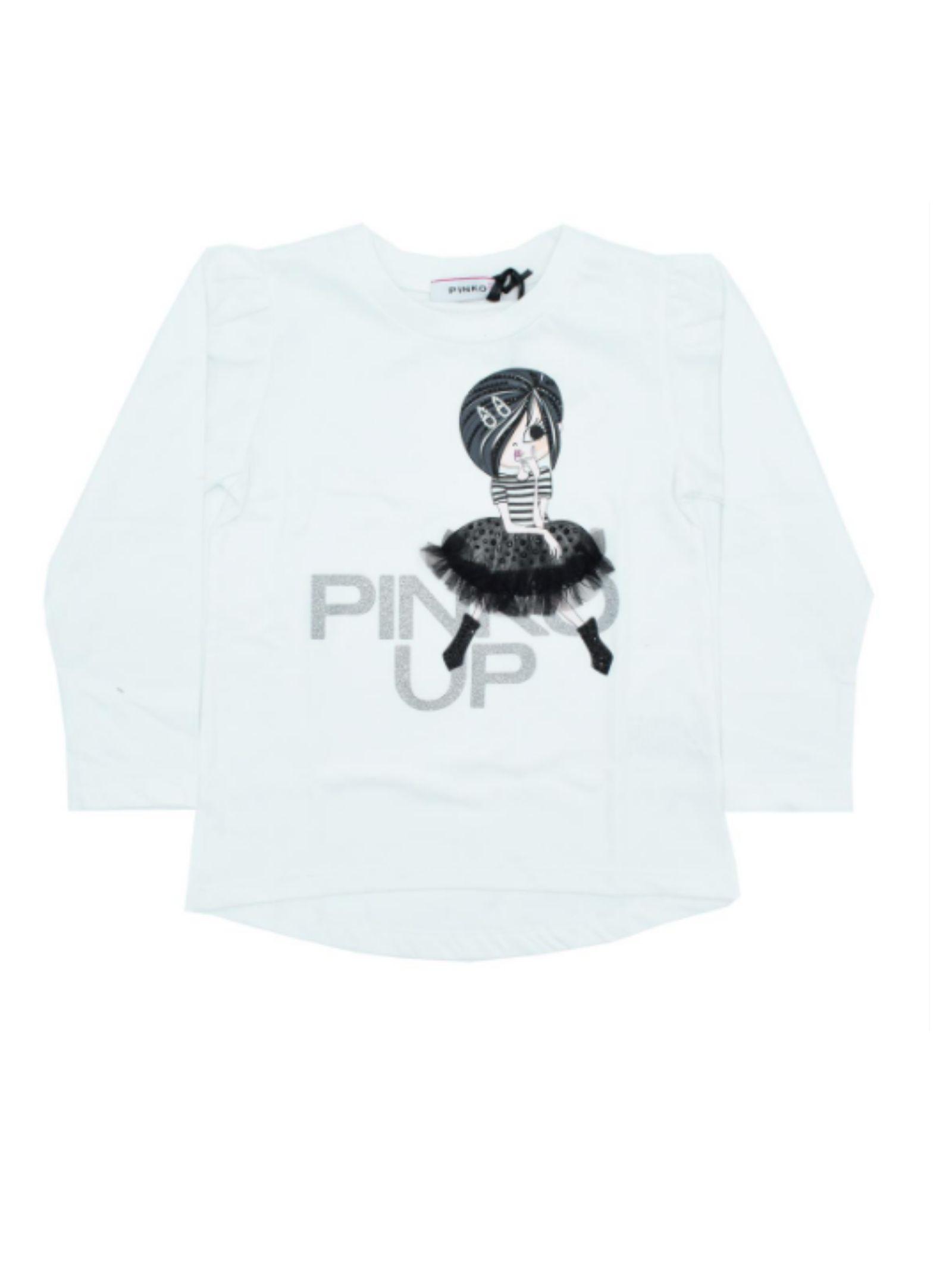 T-shirt Tulle Bambina PINKO UP | T-shirt | 028727002