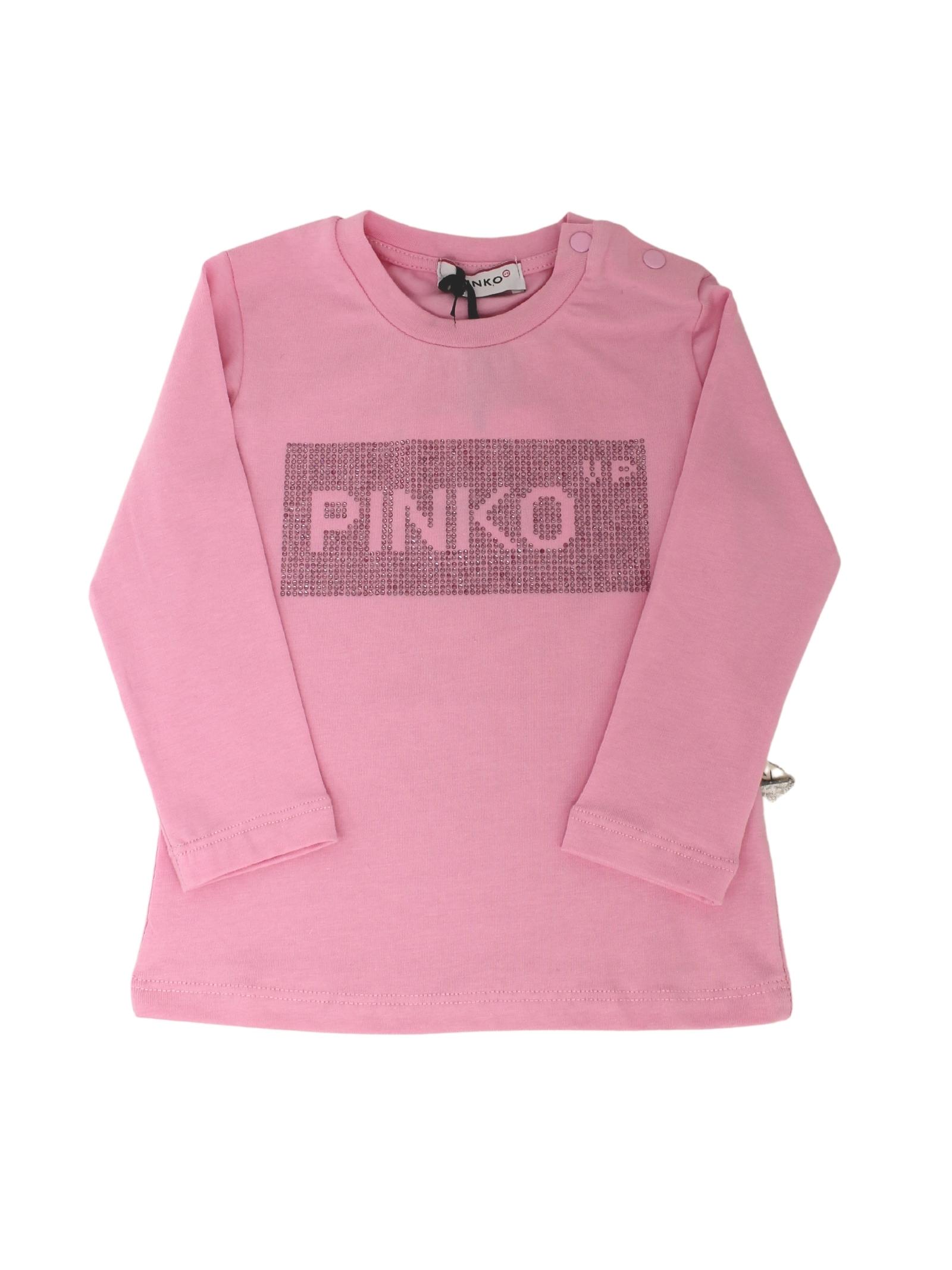 T-shirt Logo Brillantini Bambina PINKO UP | T-shirt | 028737042