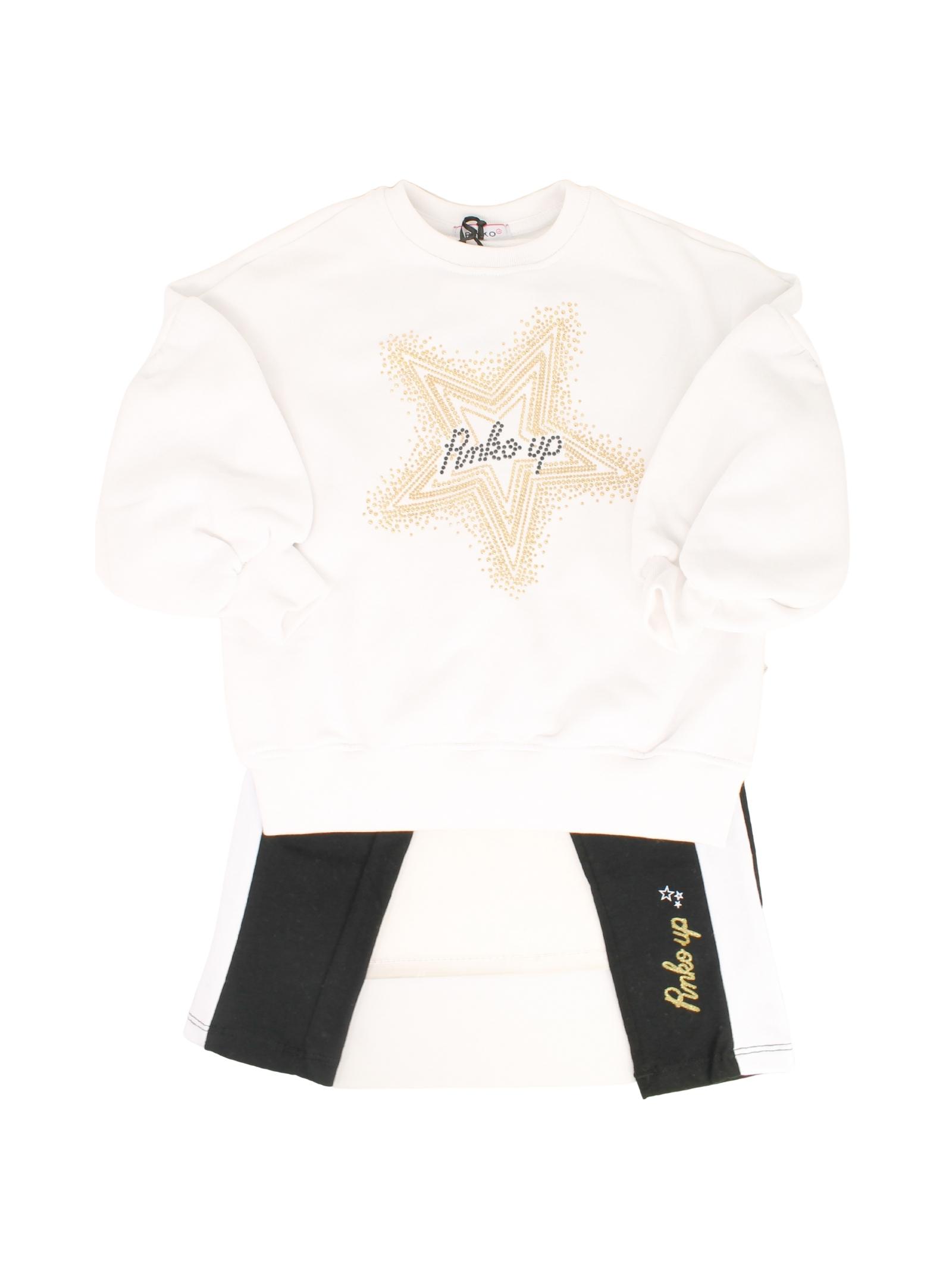 Completo Stars Black White Bambina PINKO UP | Completi | 029002002/13