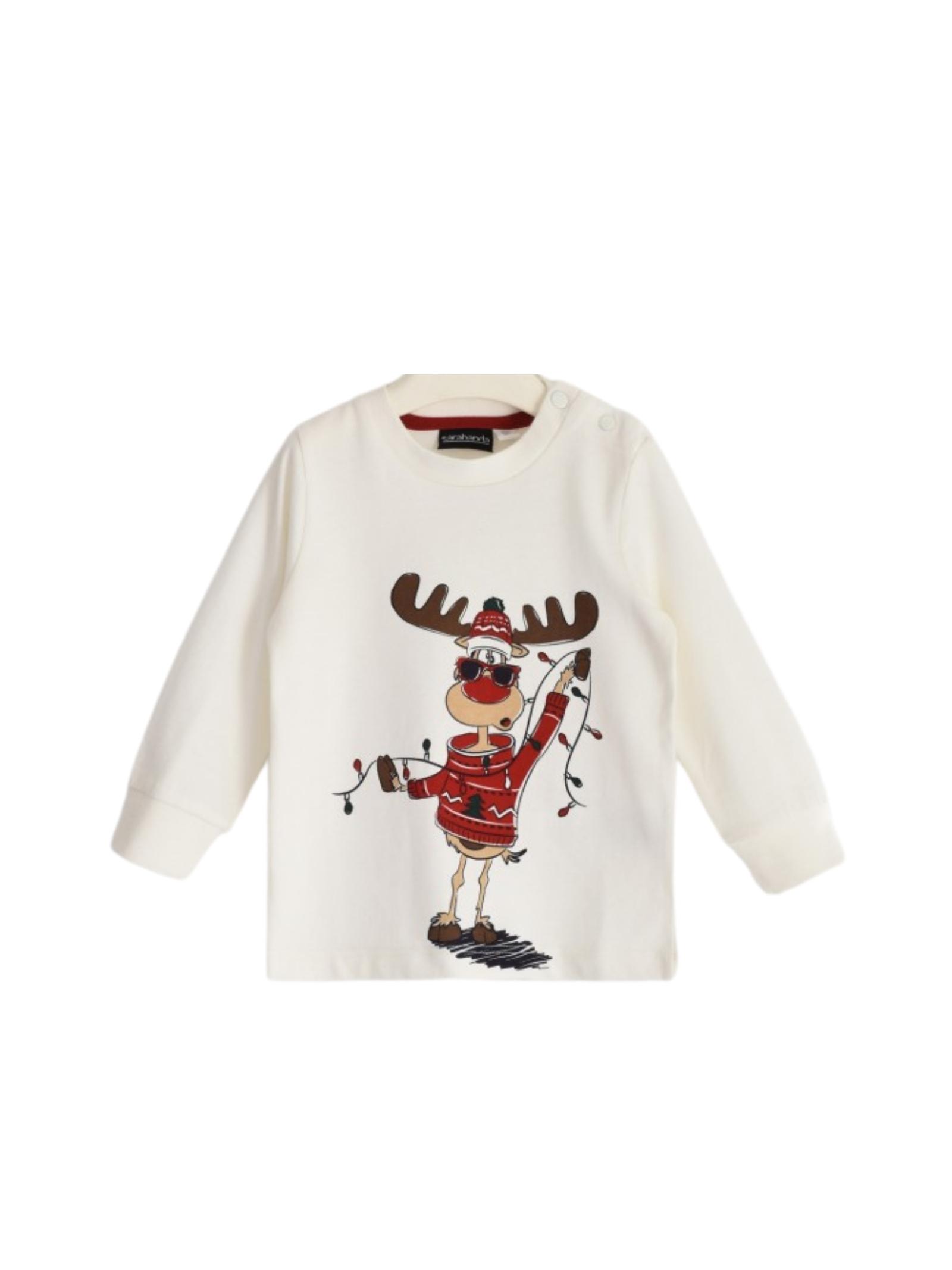 Reindeer Baby Sweater SARABANDA |  | 01121000112