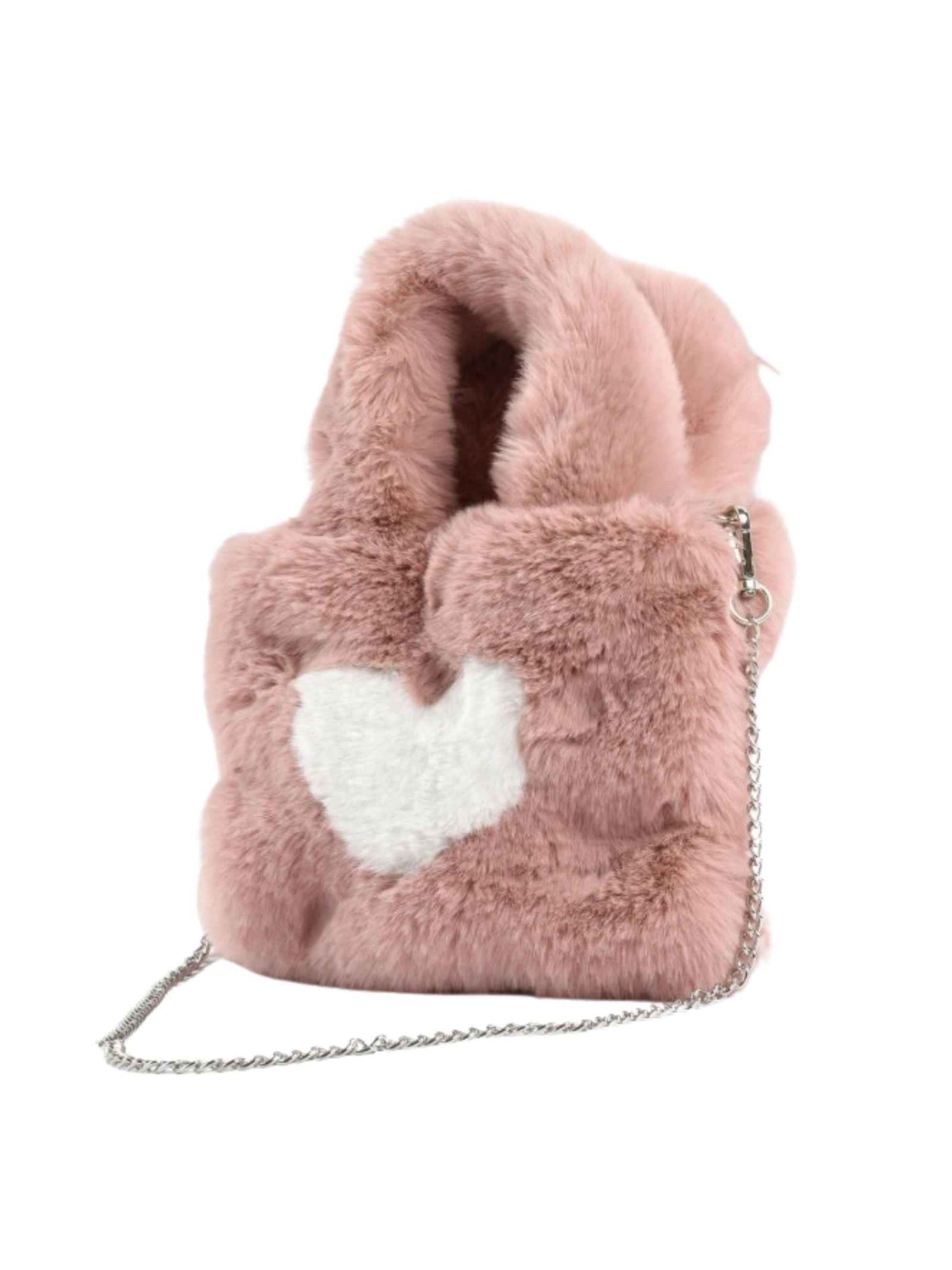 Borsa in Ecopelliccia Heart Bambina SARABANDA | Borse | 01526003031