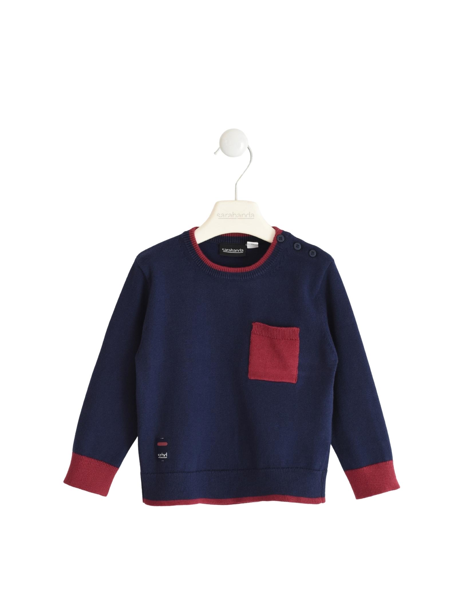 Contrast Baby Sweater SARABANDA | Sweaters | 03100003854