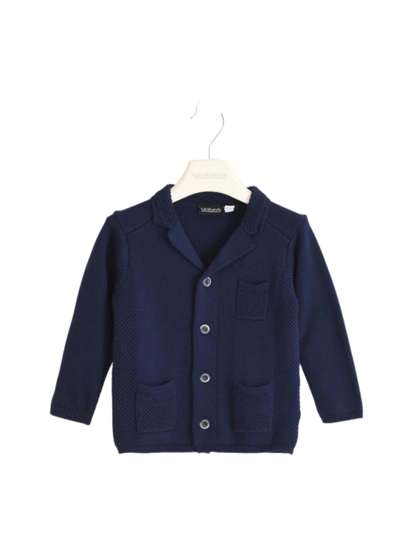Three Pockets Baby Cardigan SARABANDA | Sweaters | 03103003854
