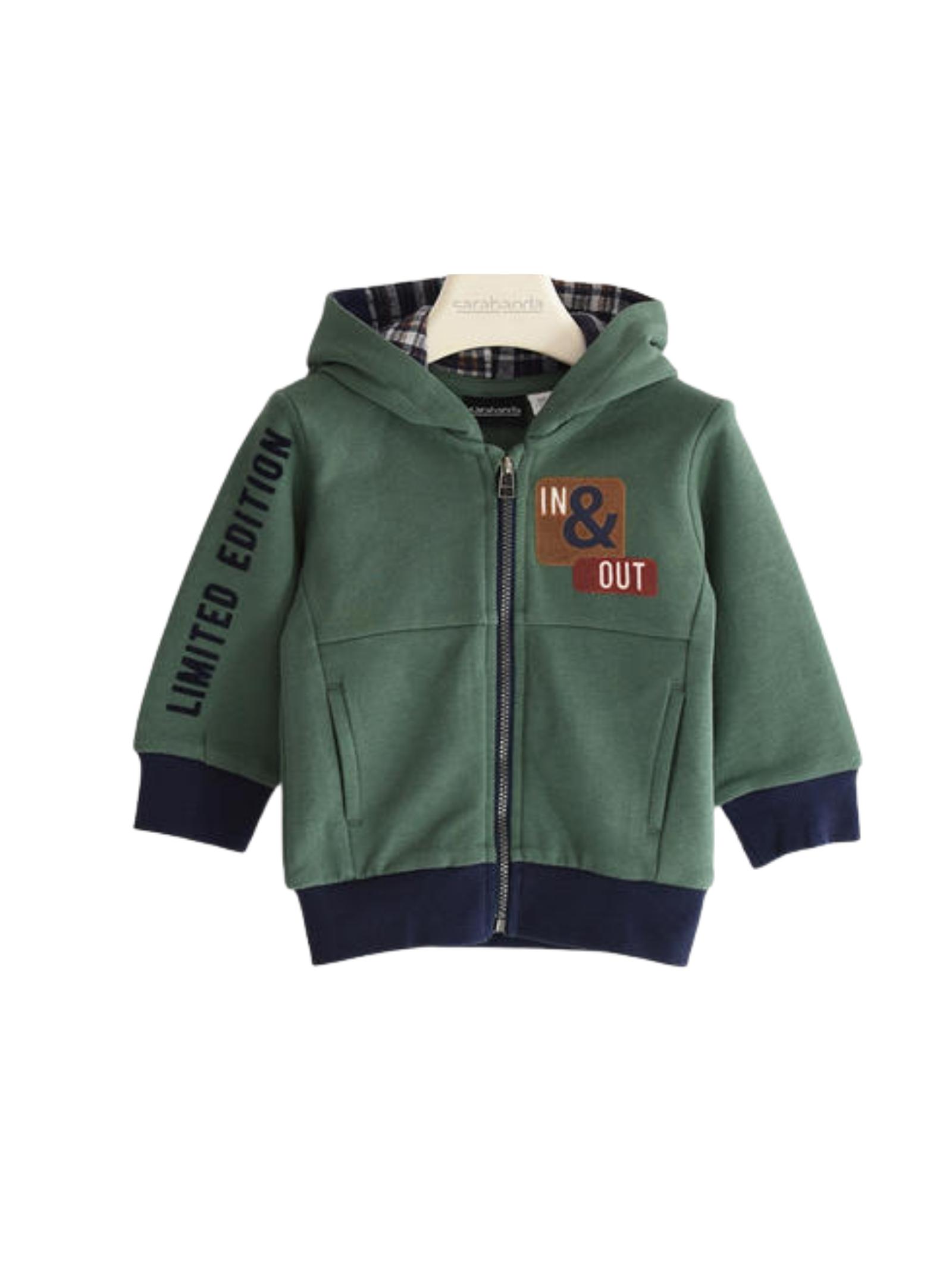 Children's Checked Sweatshirt SARABANDA | Hoodie | 03124004253