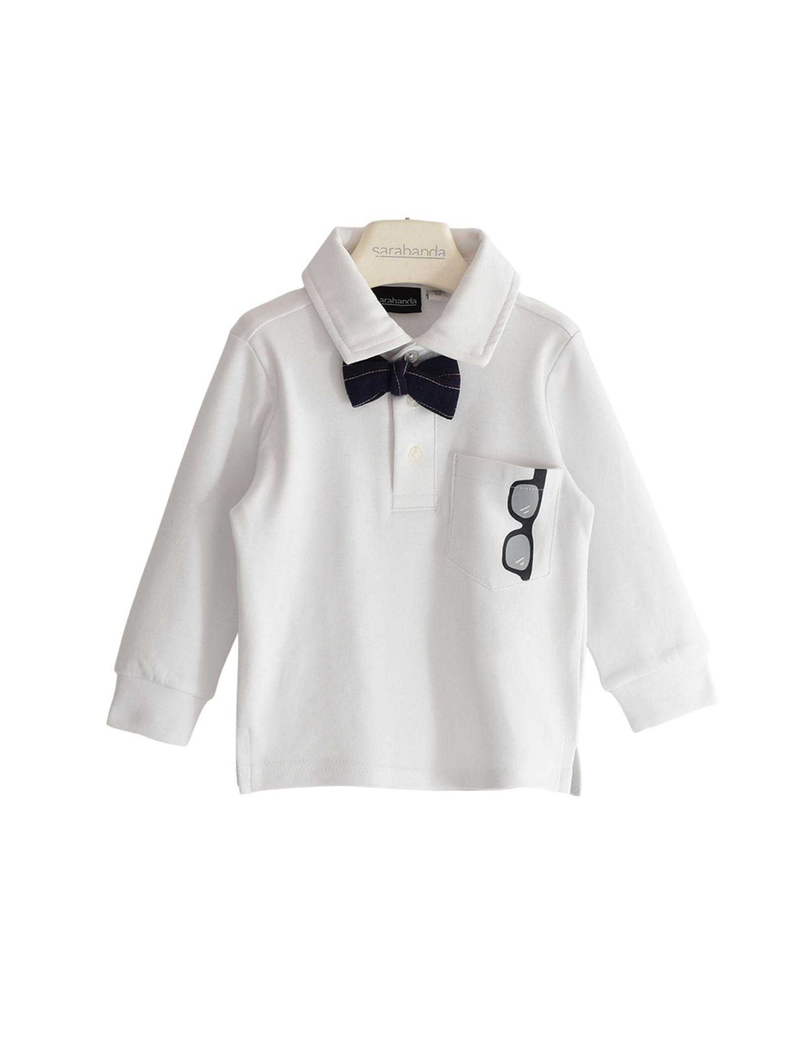 Elegant Polo Shirt For Boys SARABANDA | Polo | 03125000113