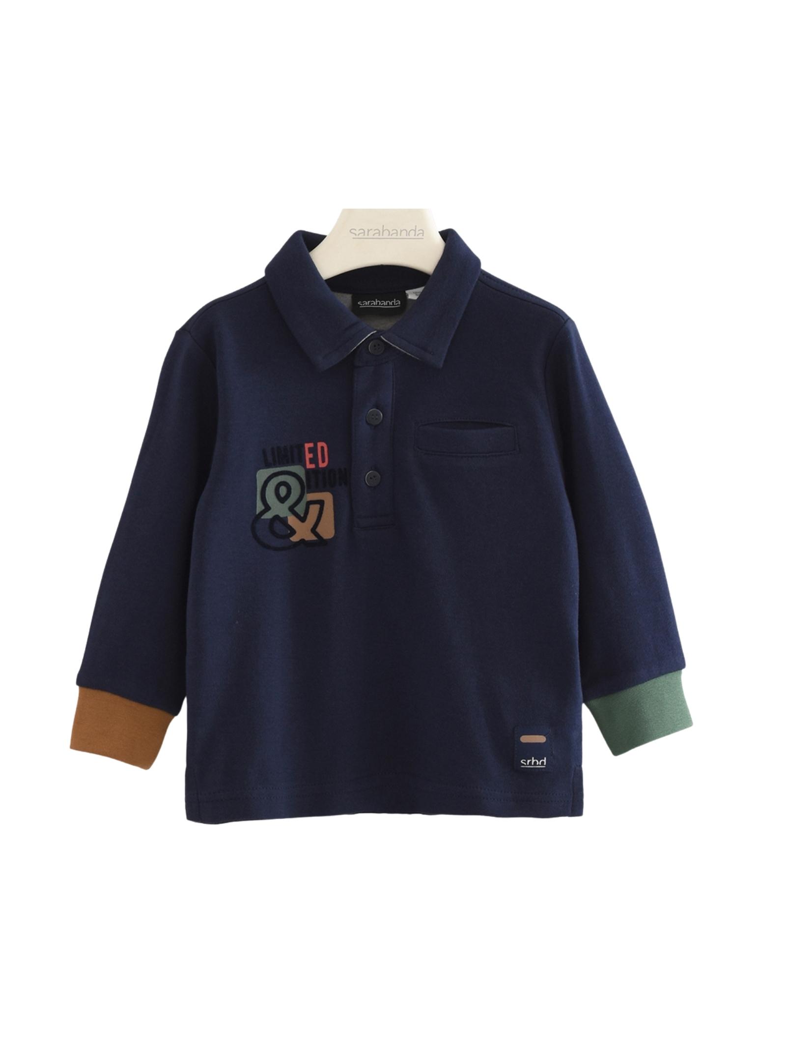 Multicolor Polo Shirt for Boys SARABANDA | Polo | 03136003854