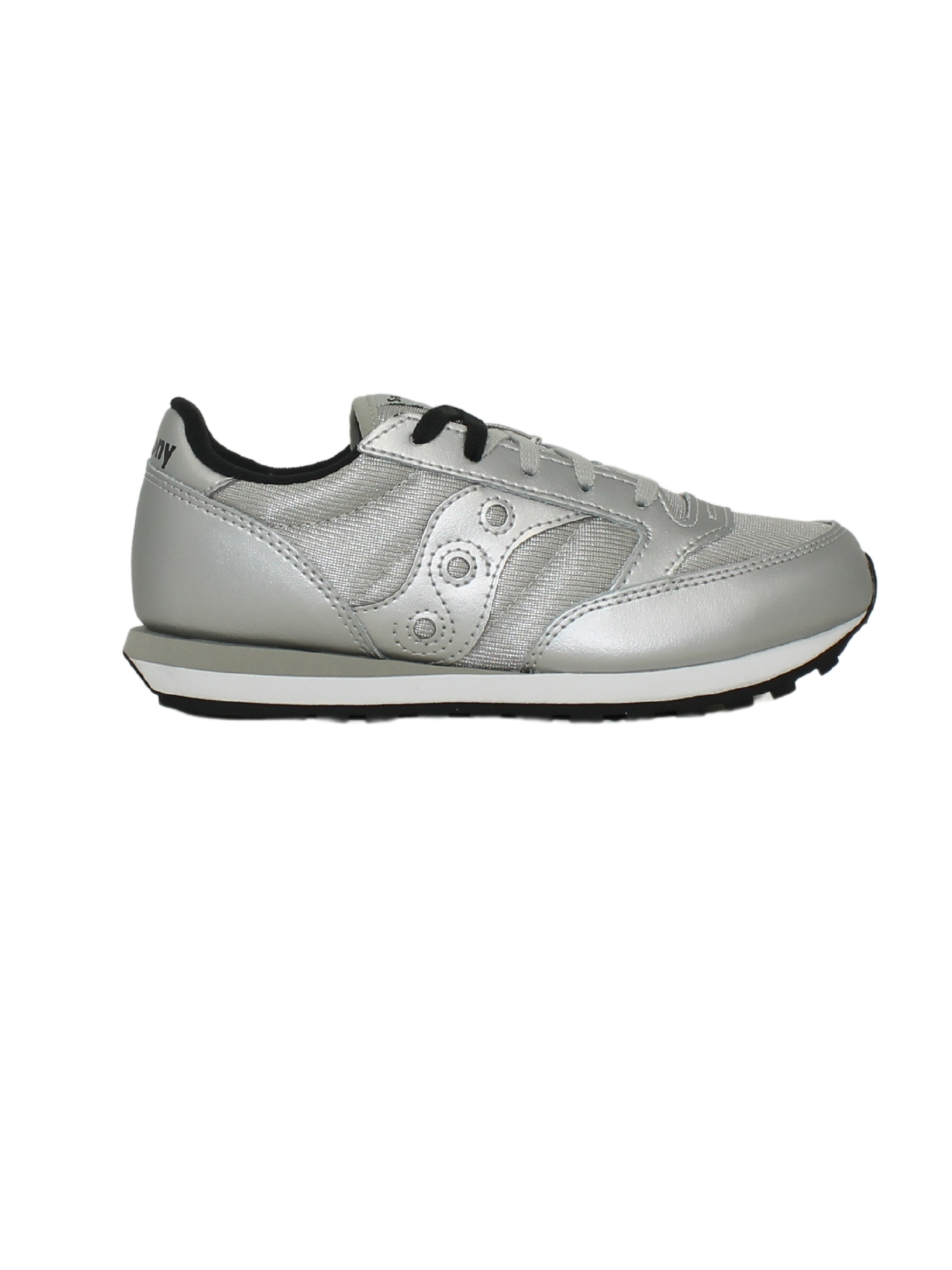 Jazz Silver Sneakers for Girls SAUCONY KIDS | Sneakers | SK165136SILVER