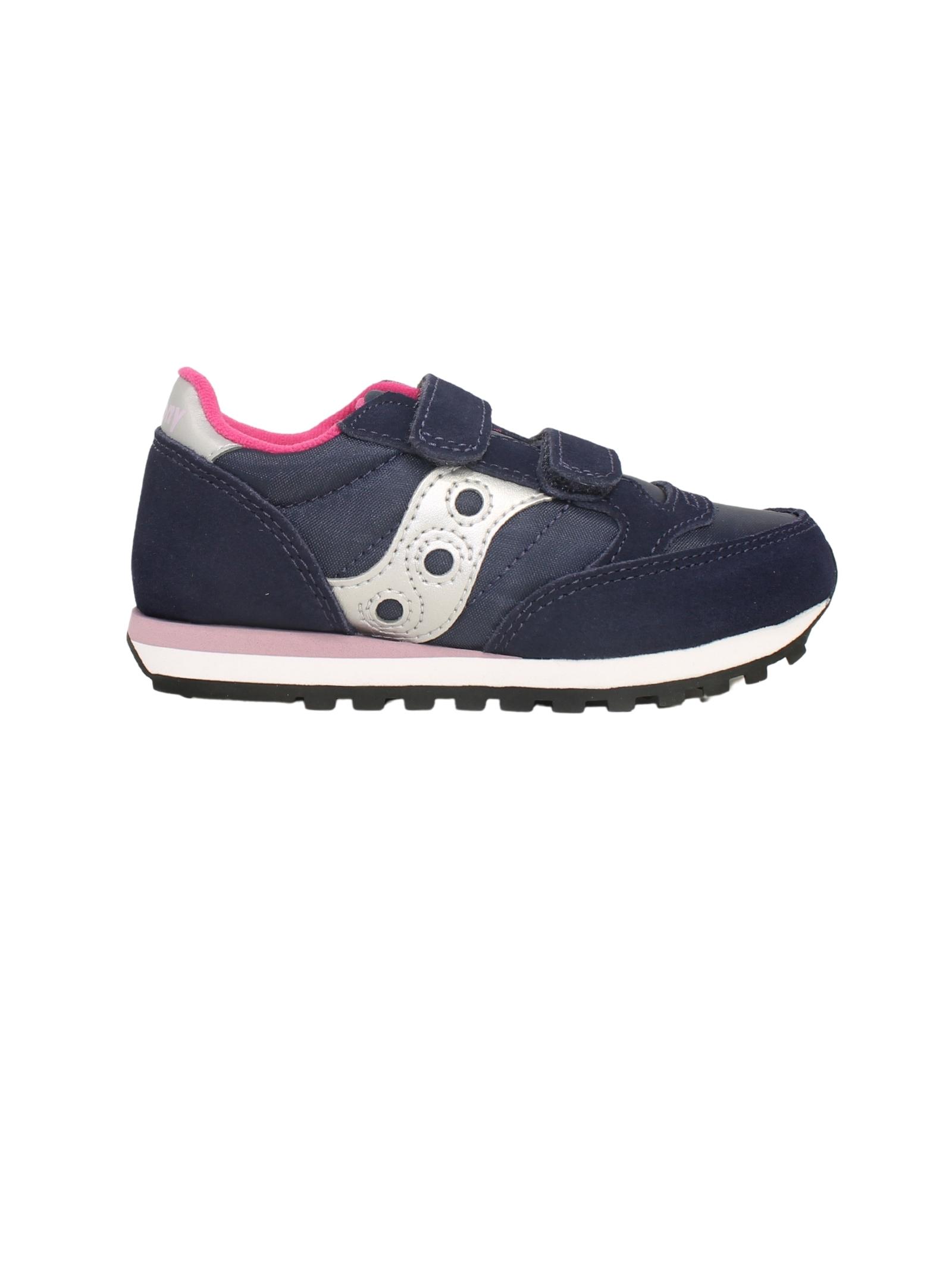 Sneakers Jazz Double Navy Bambina SAUCONY KIDS | Sneakers | SK165147NAVY/PINK