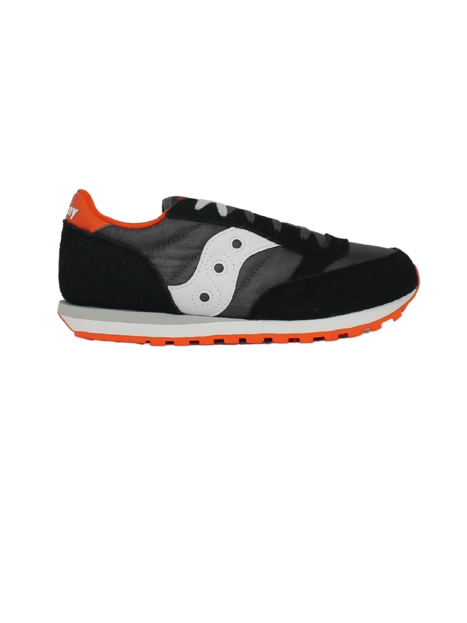 Sneakers Jazz Black Orange Bambino SAUCONY KIDS   Sneakers   SK265128BLACK/ORANGE
