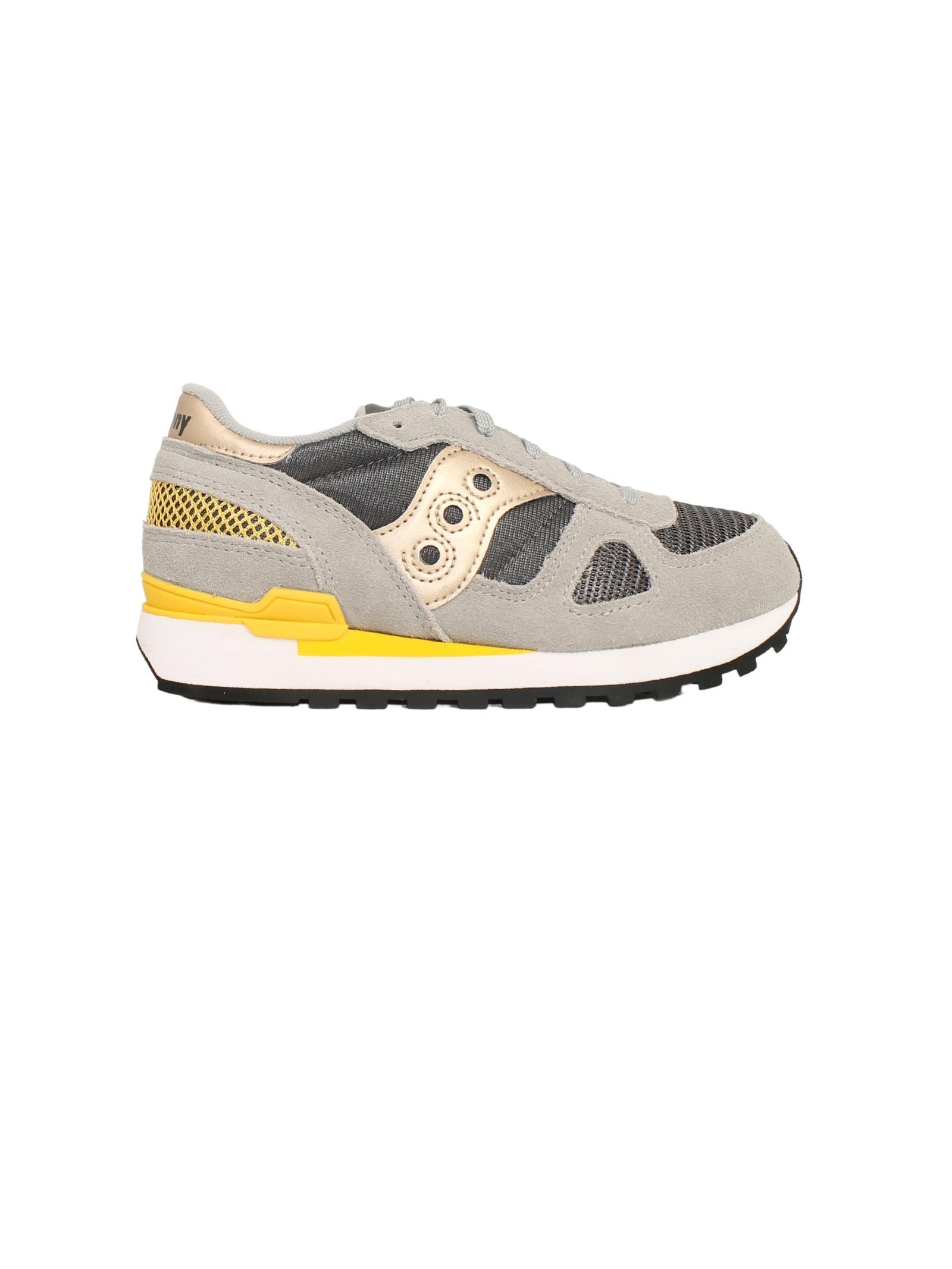 Shadow Original Sneakers Child SAUCONY KIDS | Sneakers | SK265168GREY/YELLOW
