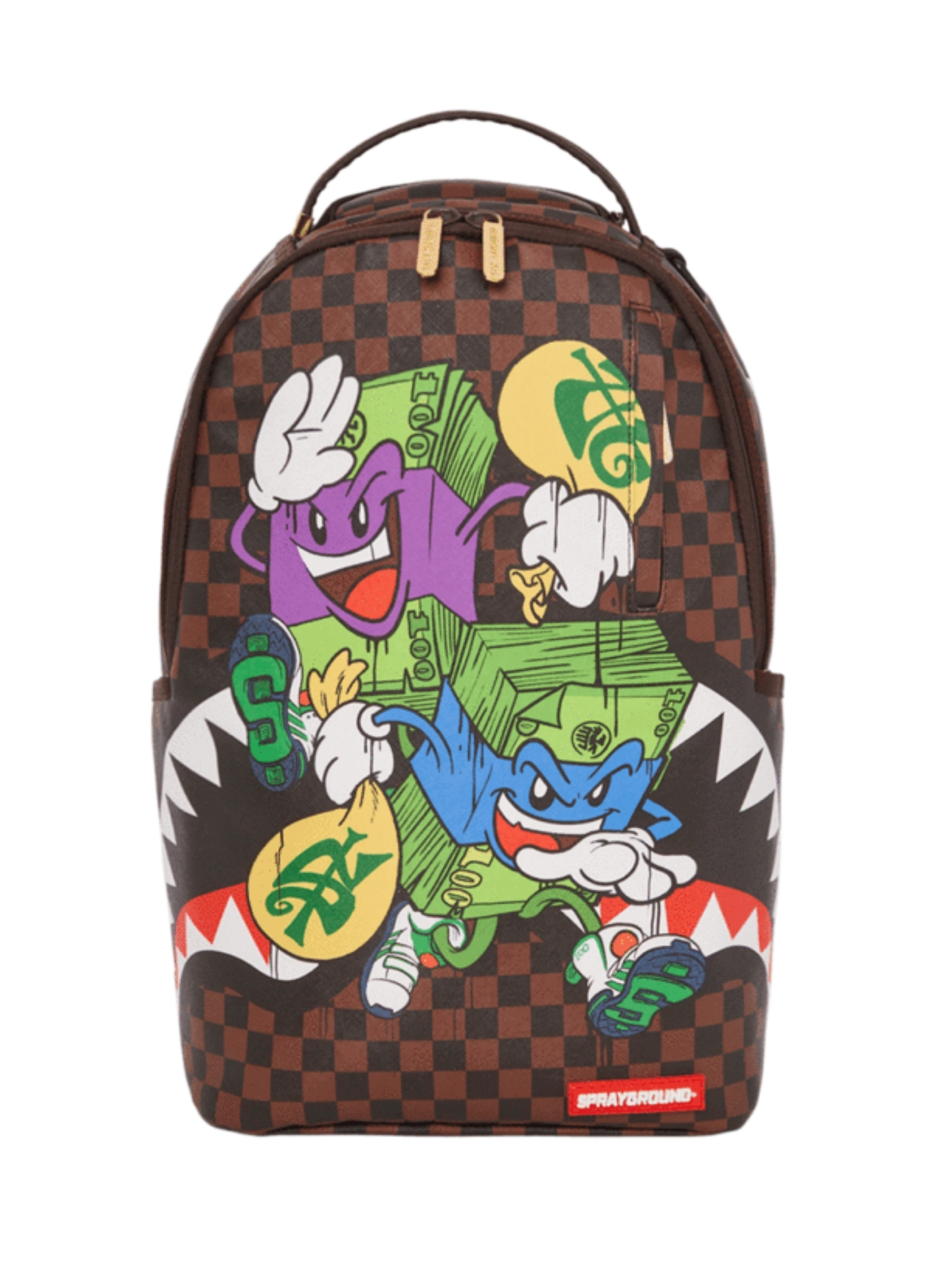 Spongebob Child backpack SPRAYGROUND KIDS | Backpacks | 910B3527NSZMARRONE