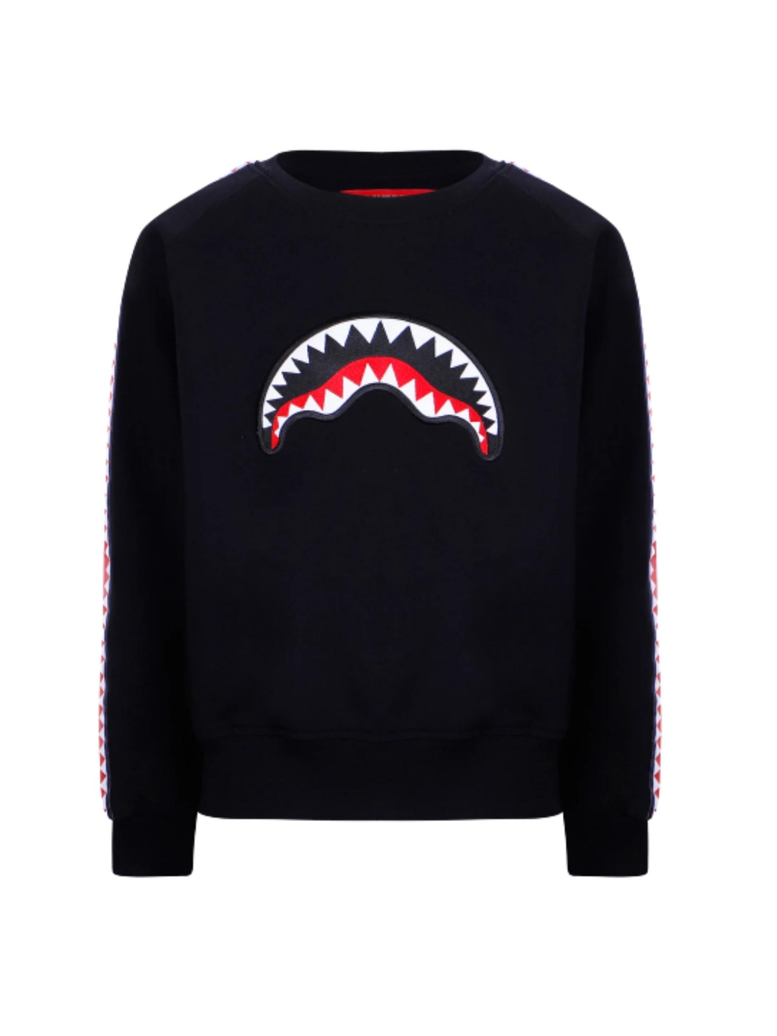 Sweatshirt with Child Bands SPRAYGROUND KIDS | Hoodie | SPY193BLKNERO