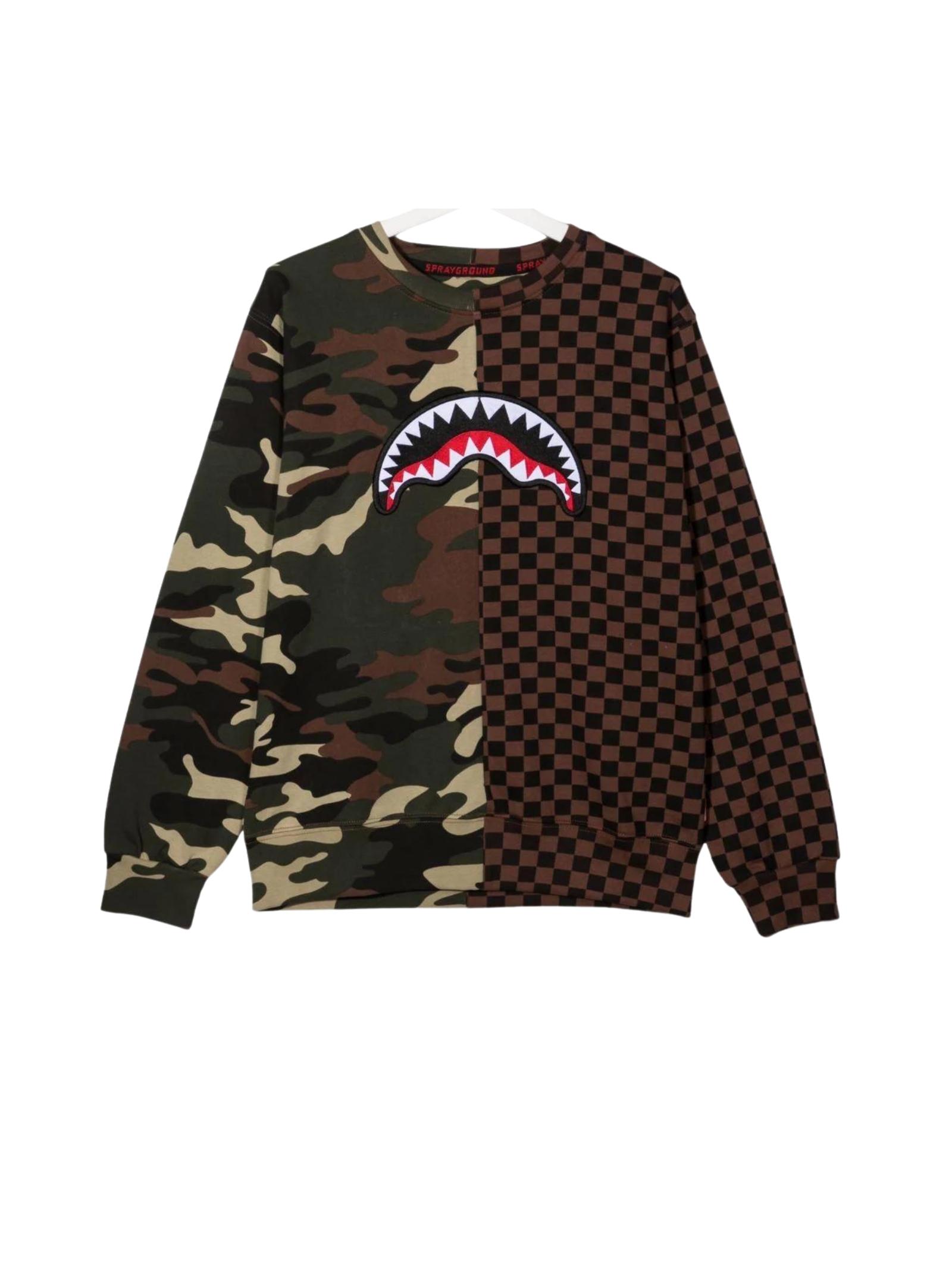 Baby Camouflage Sweatshirt SPRAYGROUND KIDS | Hoodie | SPY243CAMOUFLAGE