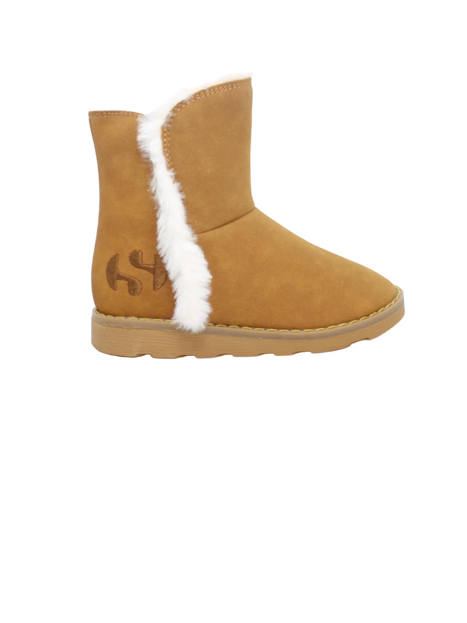 Stivali in Ecopelliccia Bambina SUPERGA KIDS | Stivali | S8111KWA18 MARRONE