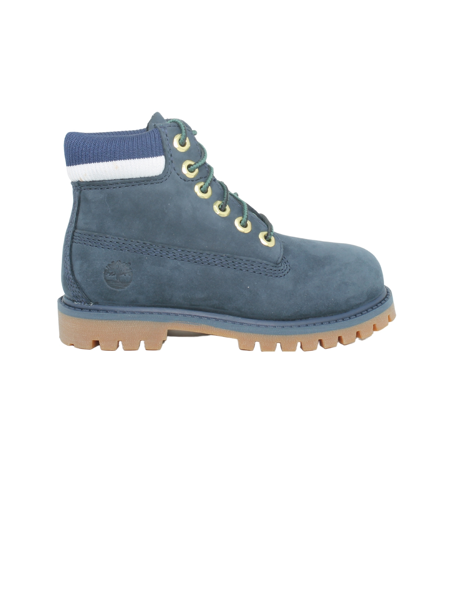 Baby Suede Leather Combat Boots TIMBERLAND KIDS | Amphibians | TB0A2FVA0191BLU