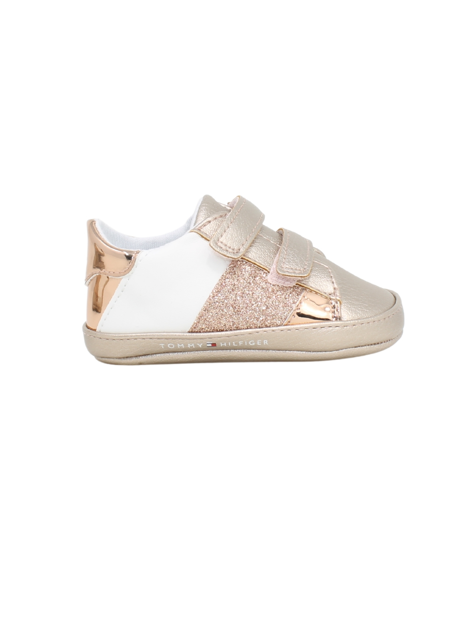 Shoes with glitter for baby girl TOMMY HILFIGER KIDS | Shoes | T0A4311360268A081ROSA