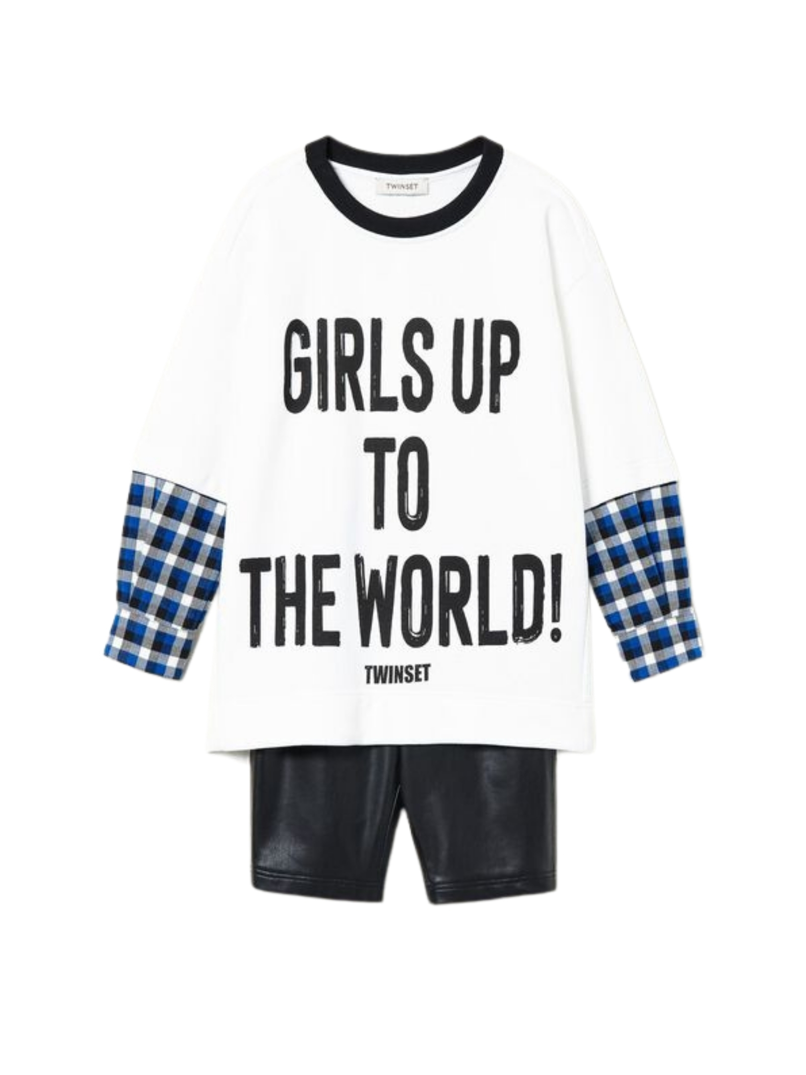 Girls up to the World Sweater TWINSET KIDS   Complete   212GJ245506261
