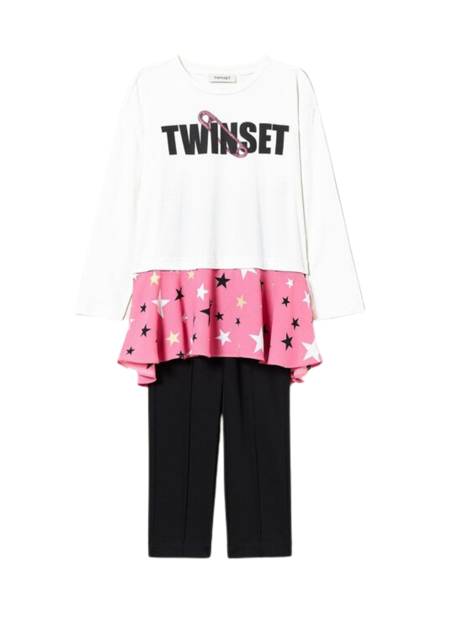 Stars Girl Outfit TWINSET KIDS   Complete   212GJ246C06359