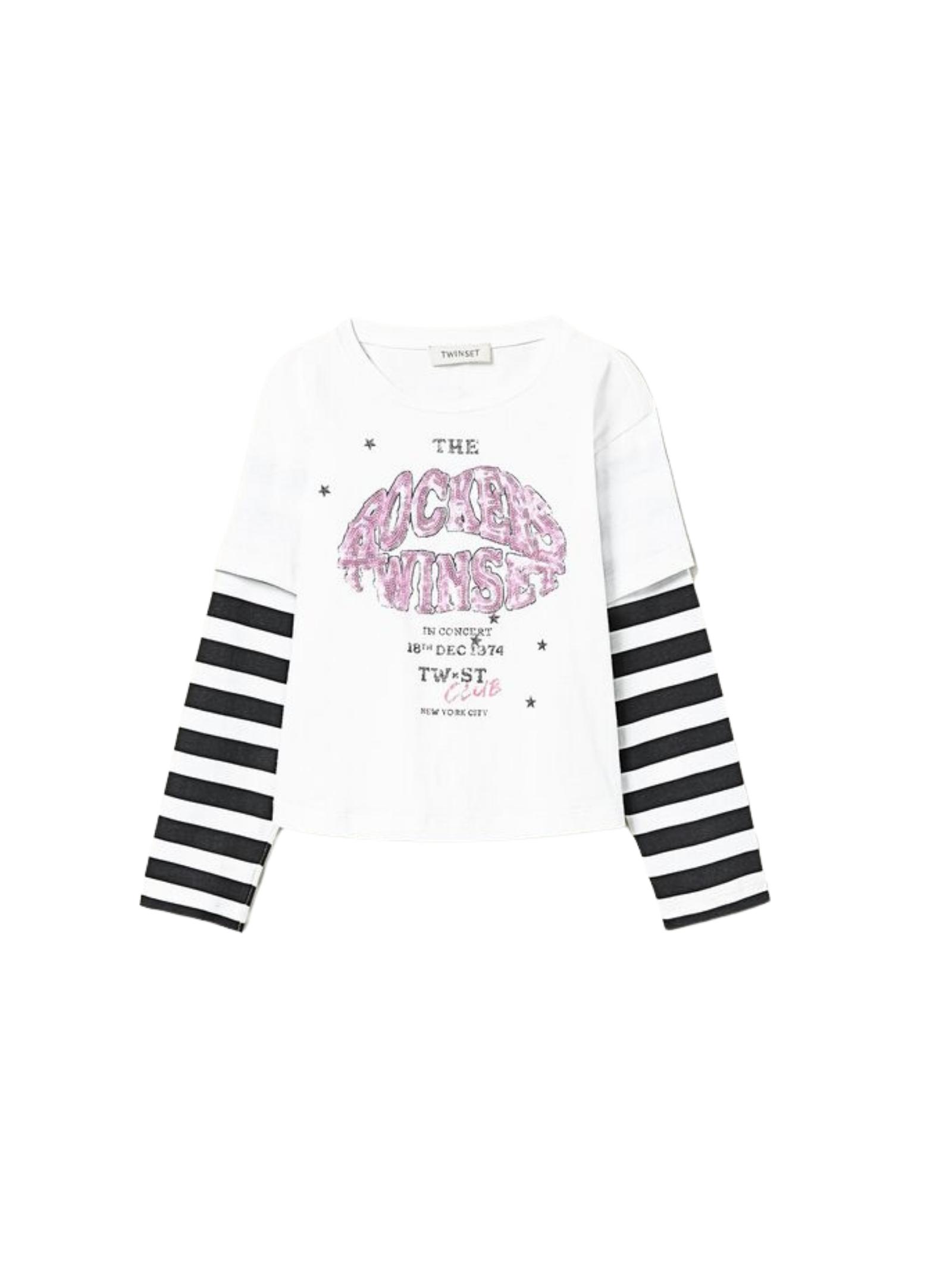 Rockers Girl Sweater TWINSET KIDS      212GJ247006287