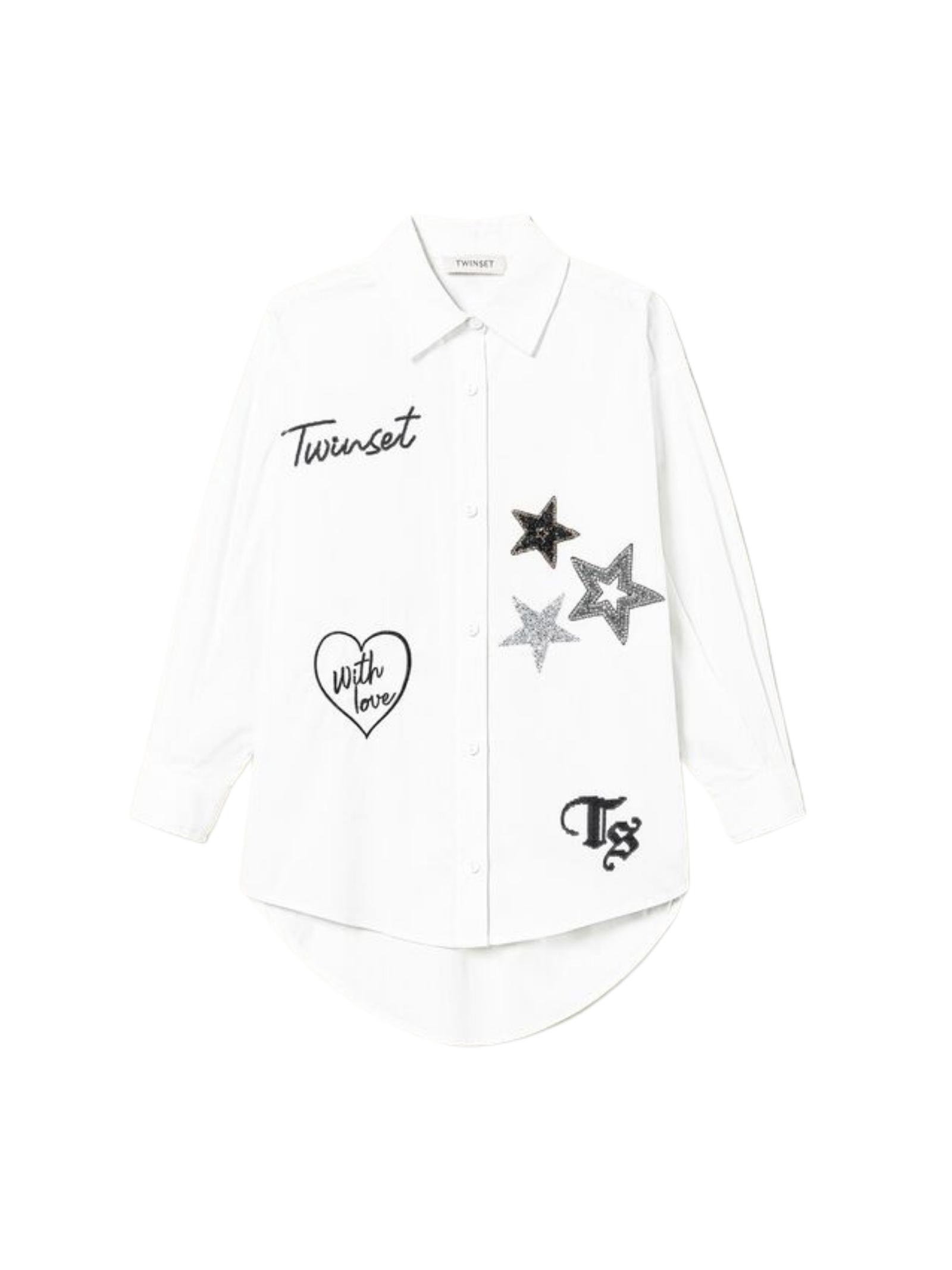 Girl's Maxi Shirt TWINSET KIDS      212GJ258000526