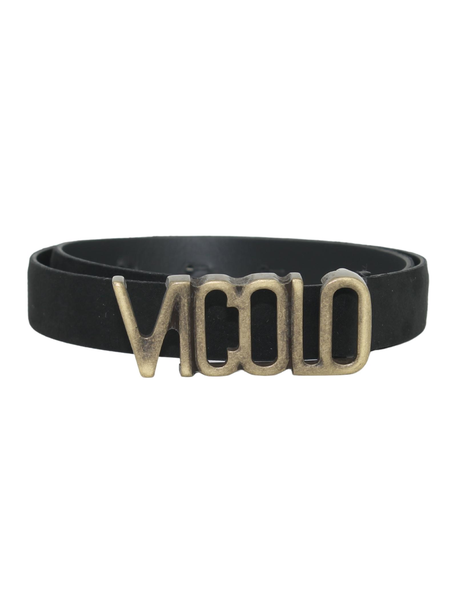 Black girl belt VICOLO KIDS | Belts | 3141BELT0791NERO