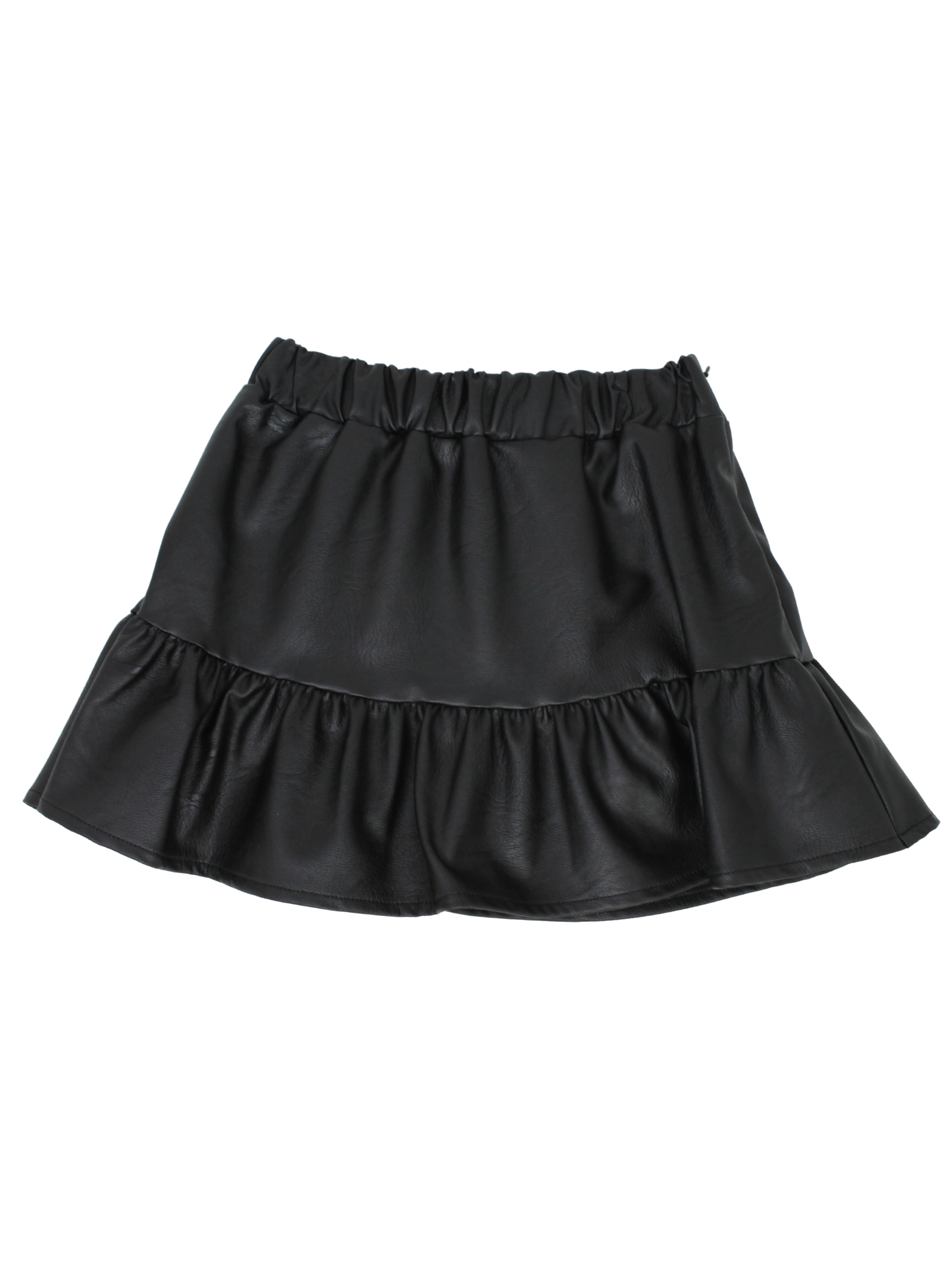 Skirt with flounce for girls VICOLO KIDS | Skirts | 3141G0719NERO