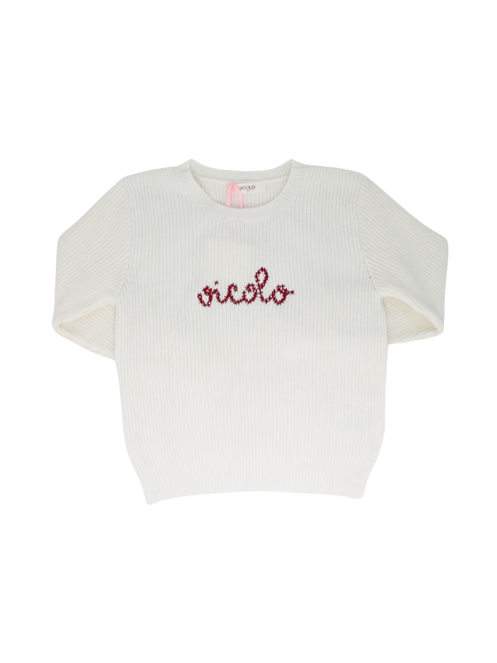 Cashmere sweater for girls VICOLO KIDS |  | 3141W0730PANNA