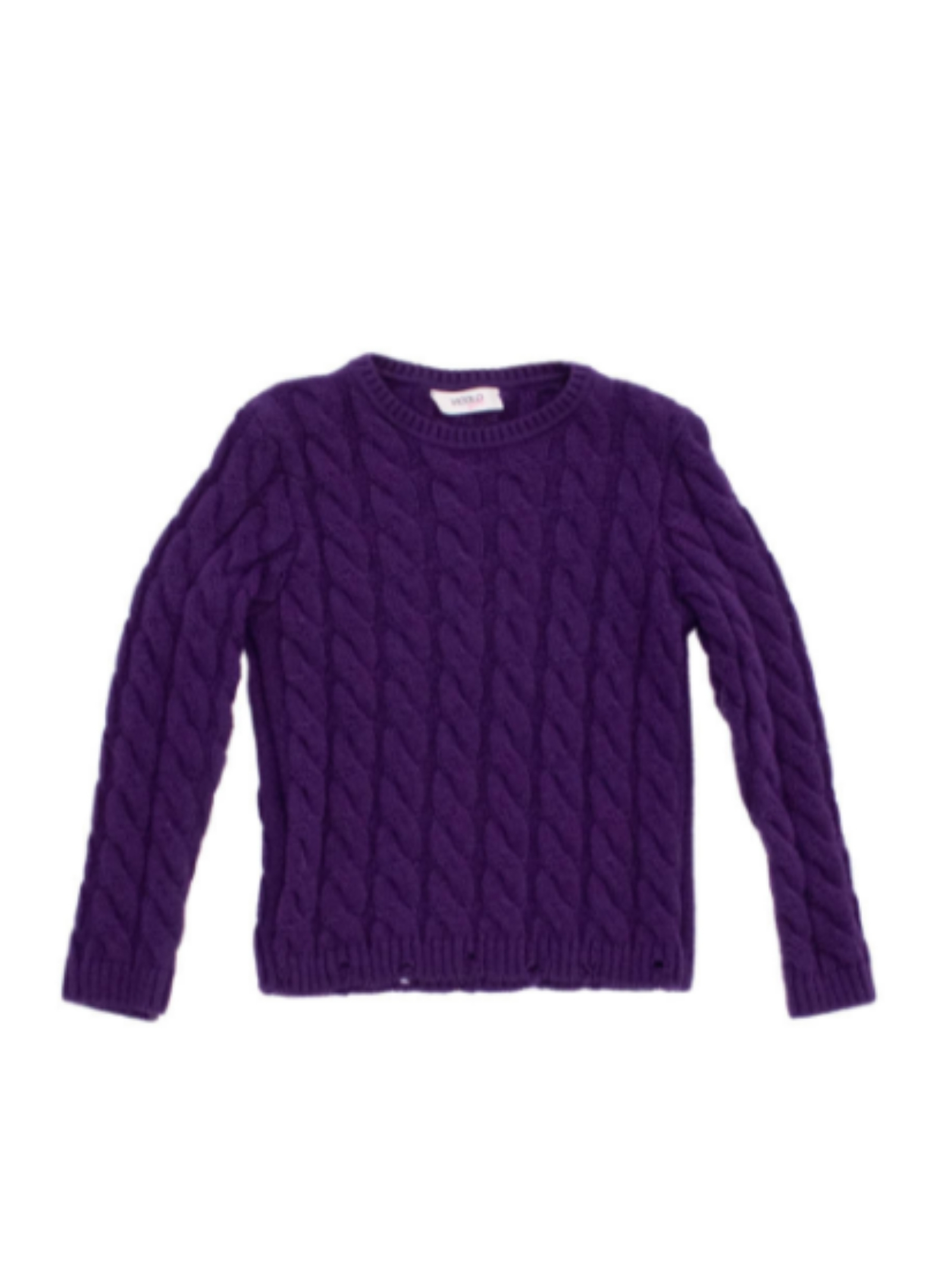 Fringed Effect Sweater for Girls VICOLO KIDS |  | 3141W0764VIOLA