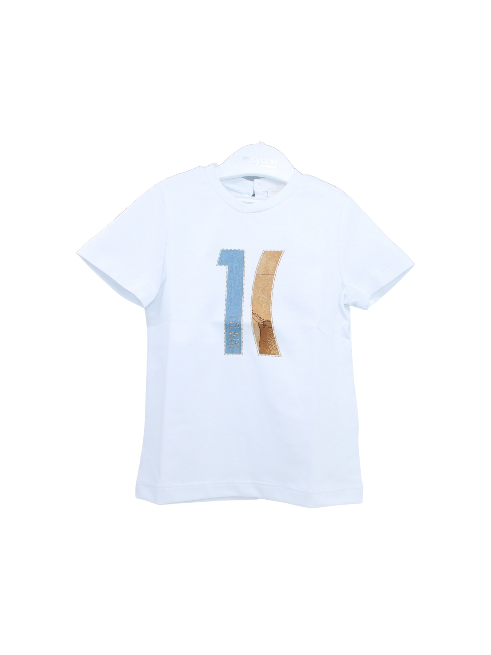 T-Shirt Bambino  Logo ALVIERO MARTINI 1° CLASSE JUNIOR | T-shirt | 2566M0499WHITE