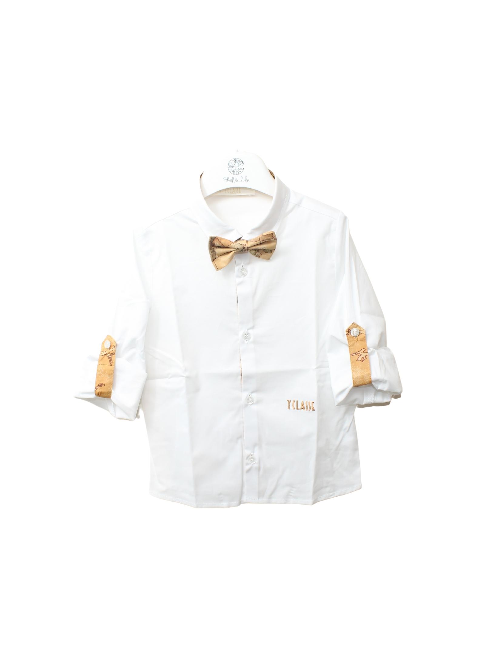 Camicia Elegant Bambino White ALVIERO MARTINI 1° CLASSE JUNIOR | Camicie | 2575C0432WHITE