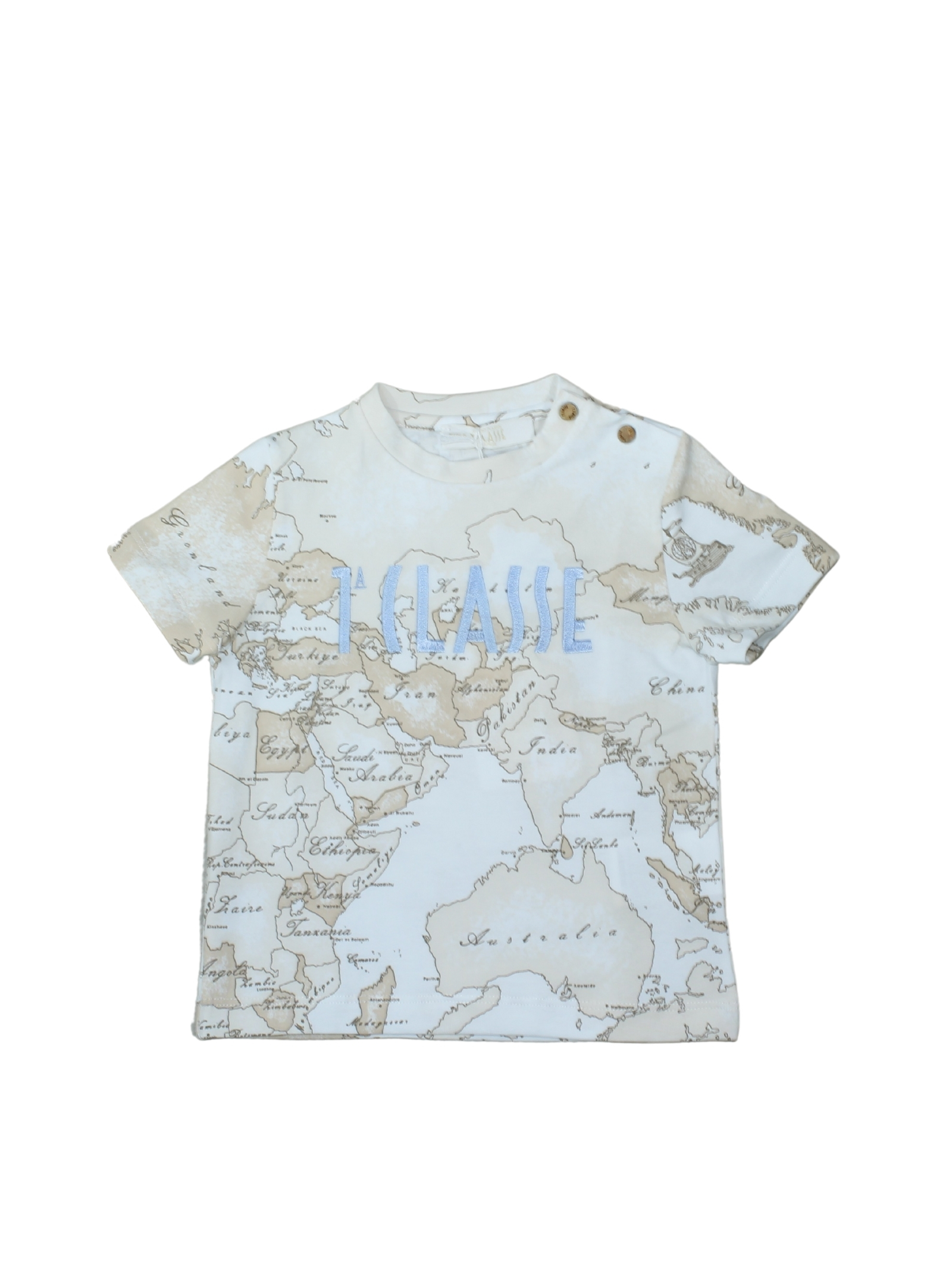 T-Shirt Neonato Logo Geo Istituzionale ALVIERO MARTINI 1° CLASSE JUNIOR | T-shirt | 2576M0416BEIGE