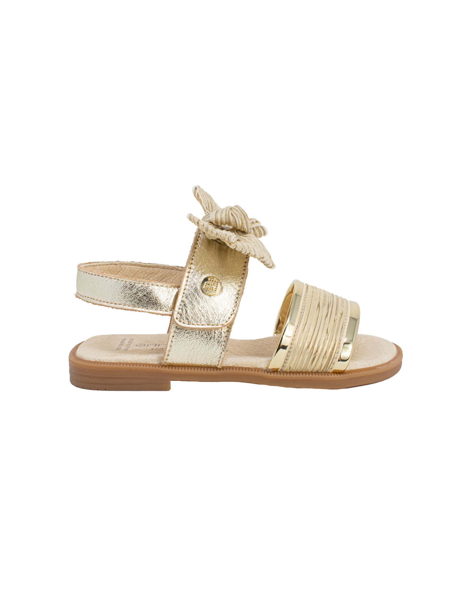 Sandalo Fiocco Gold ANDANINES | Sandali | 211455CHAMPAGNE