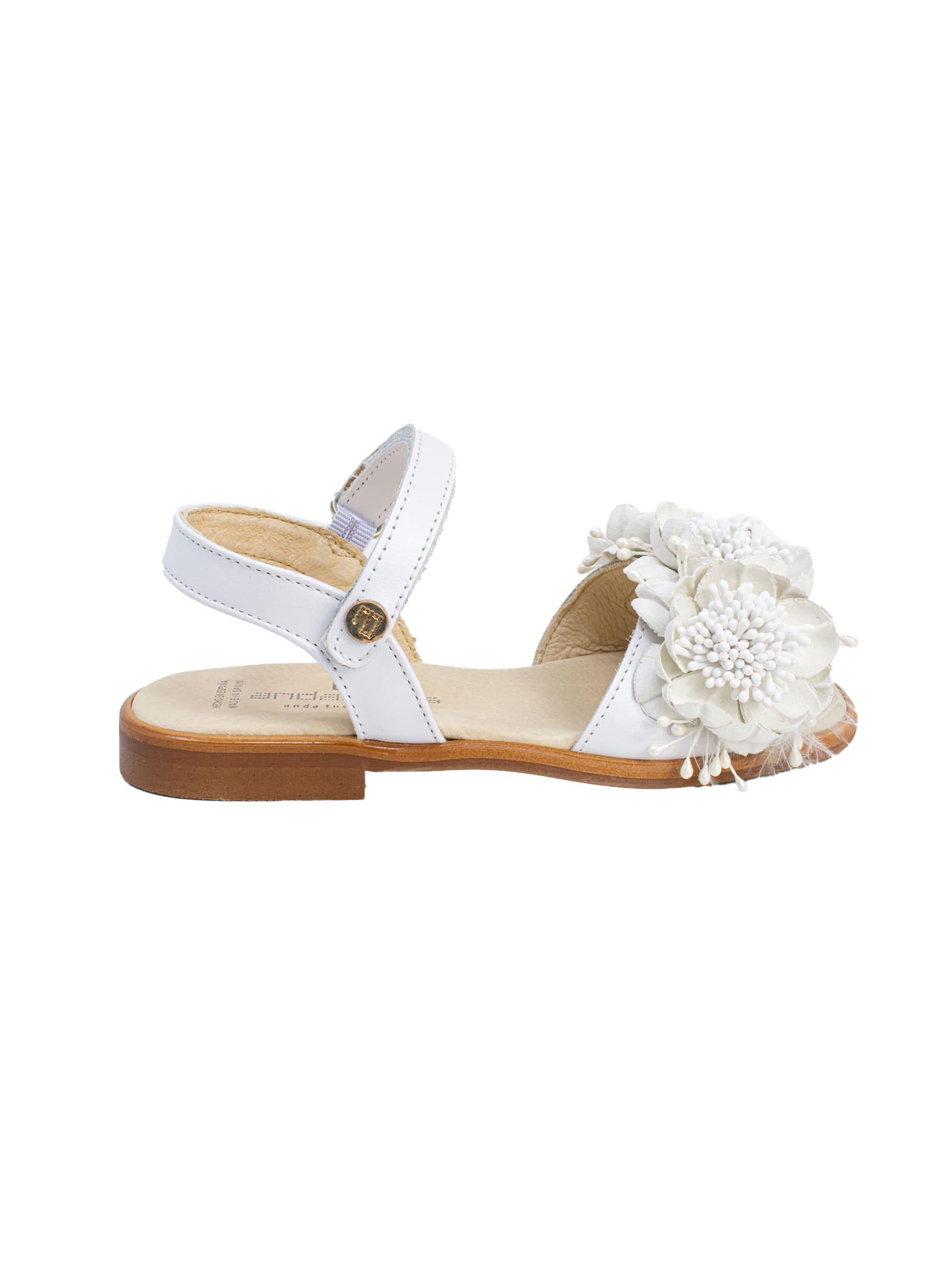 Sandalo White Flowers ANDANINES | Sandali | 211464BLANCO
