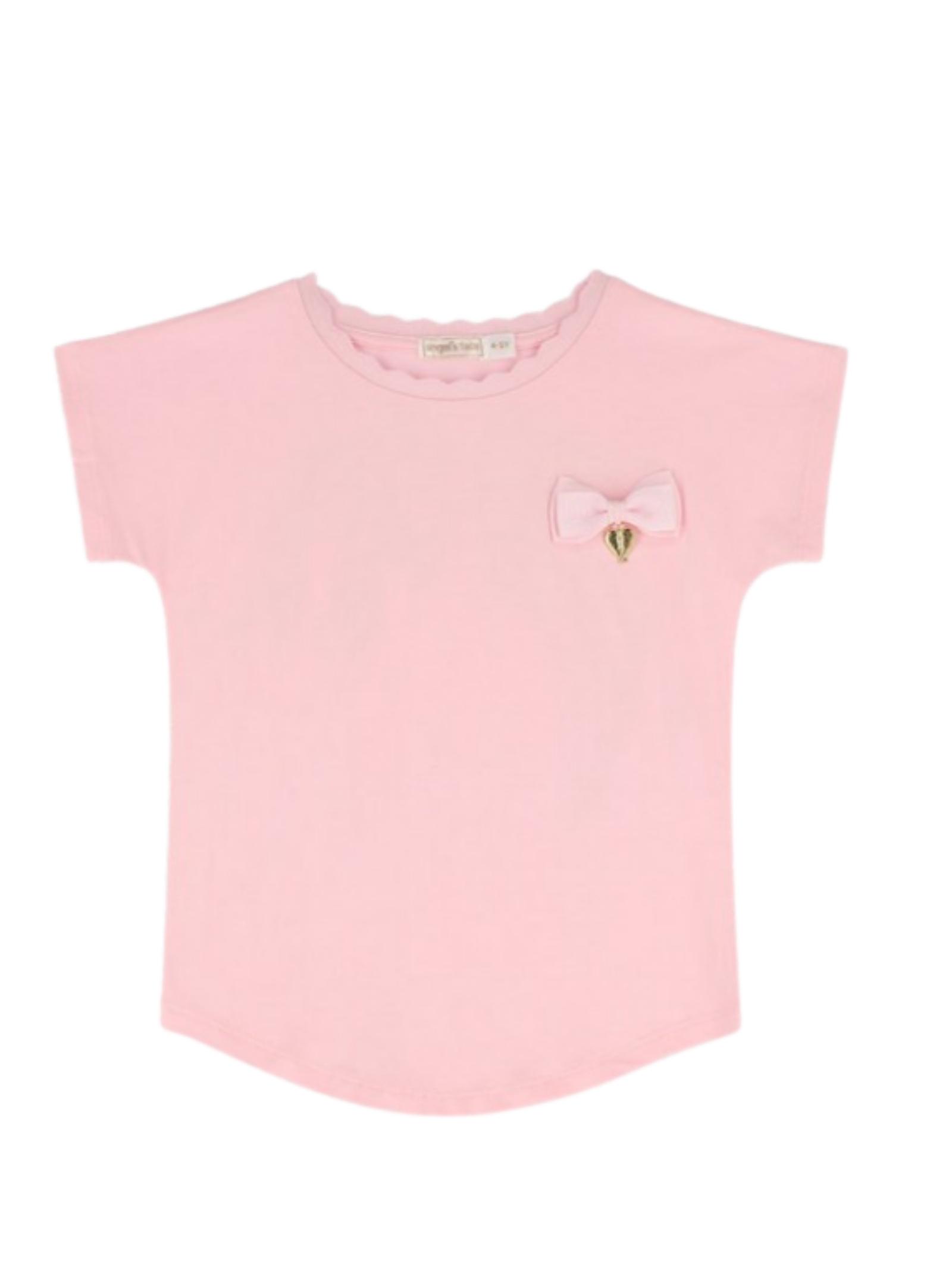 T-shirt Bambina Beverly ANGEL'S FACE | T-shirt | BEVERLYFAIRY PINK