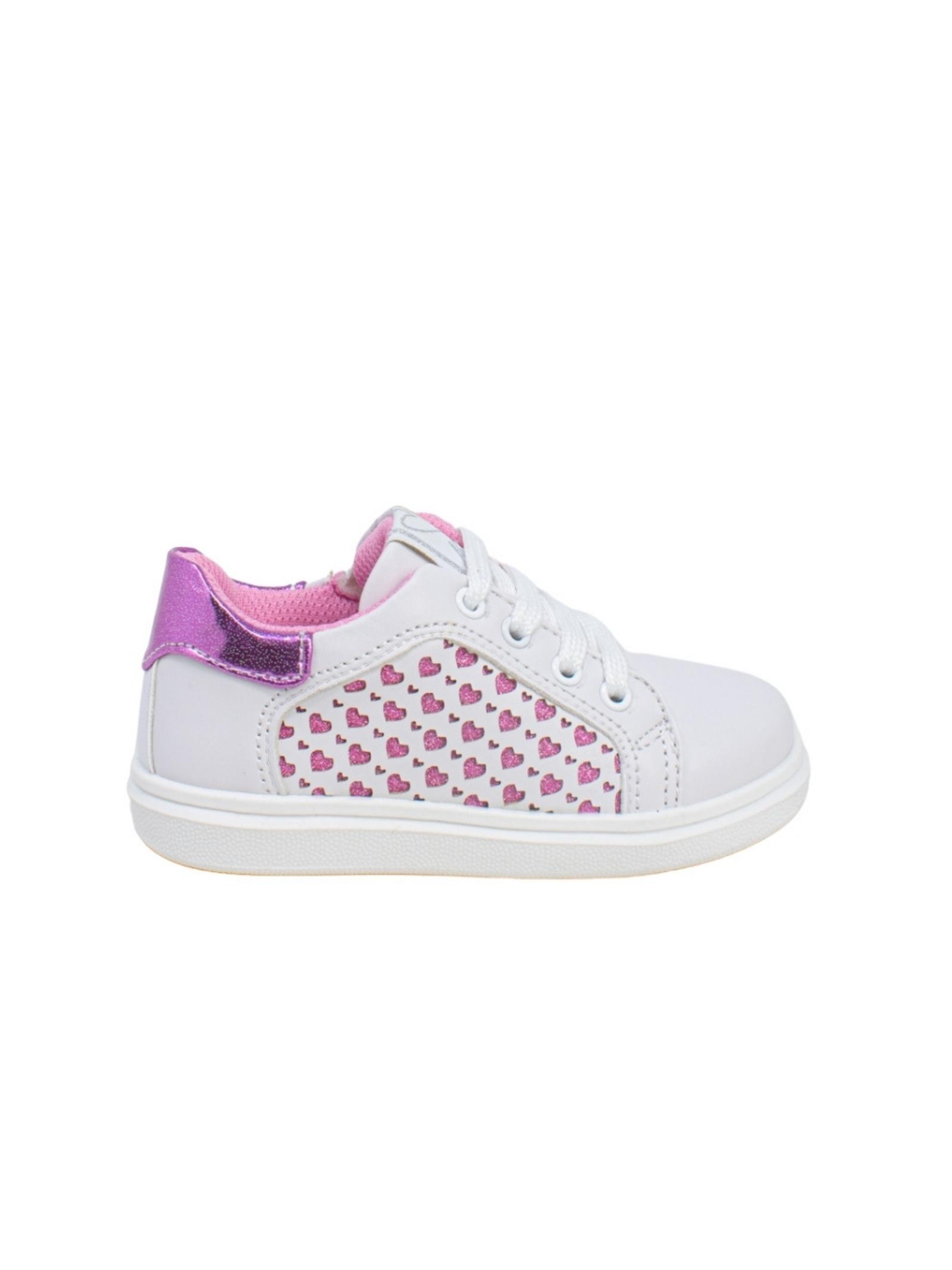 Sneakers Love Glitter ASSO | Sneakers | 10381BIANCO