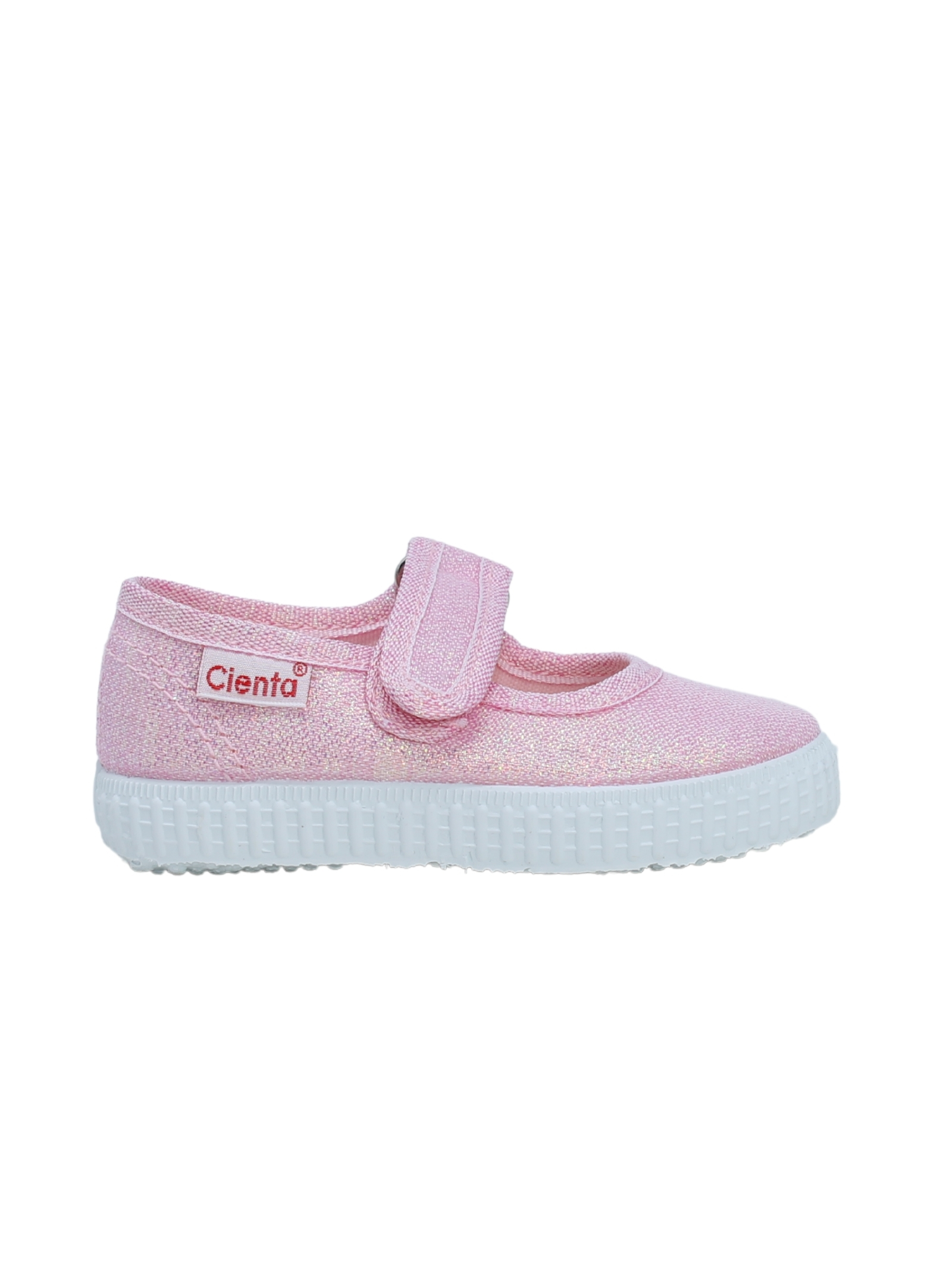 Ballerina Pink glitter CIENTA | Ballerine in tela | 5608303