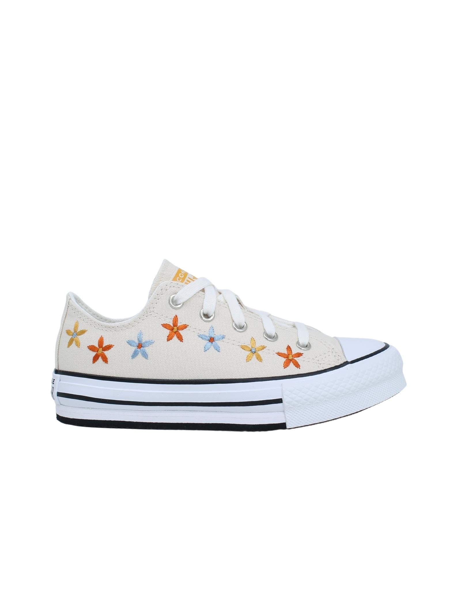 Converse Bambina Fiori CONVERSE KIDS | Sneakers | 671105CBEIGE